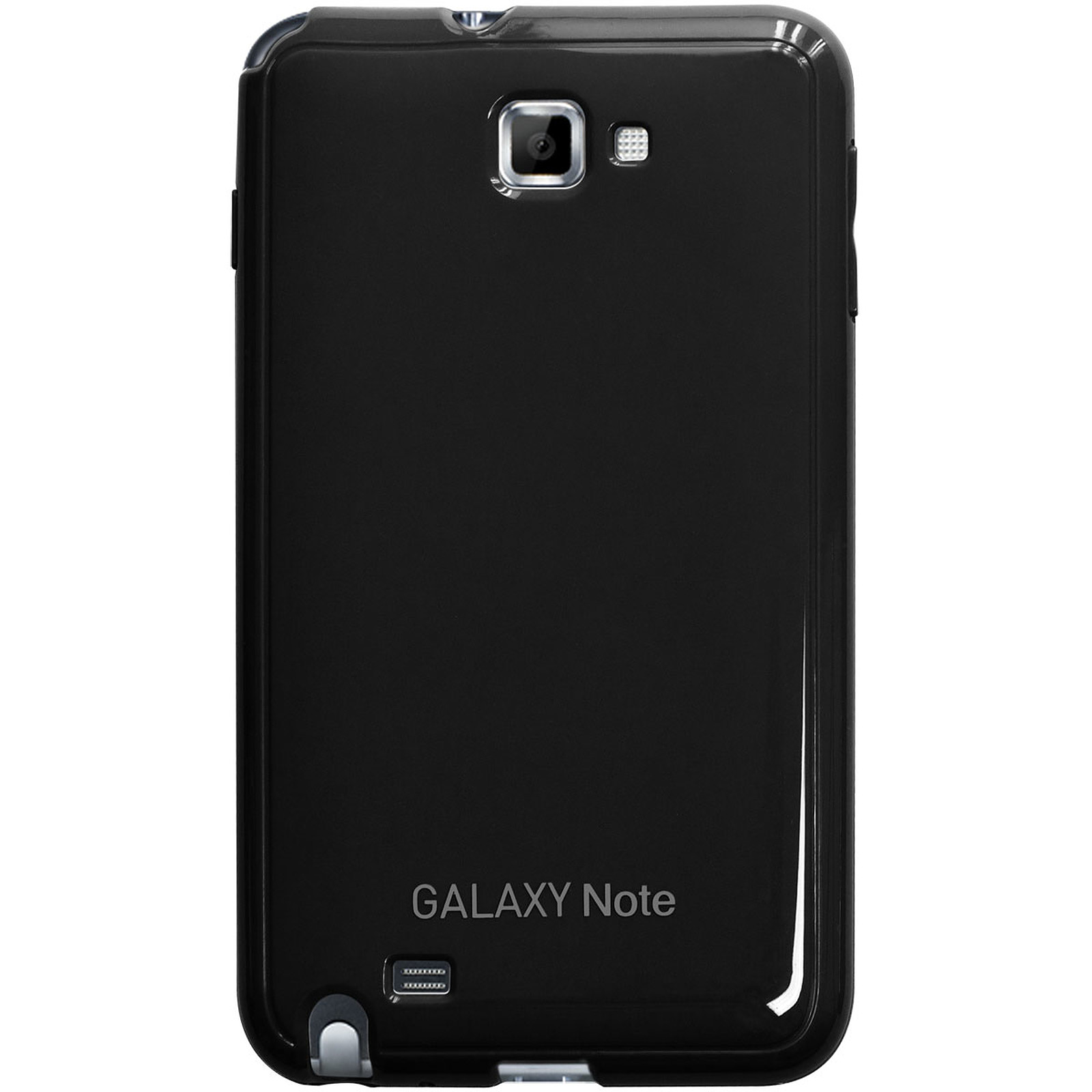 Anymode Made For Samsung Coque Glossy Noire pour Galaxy Note