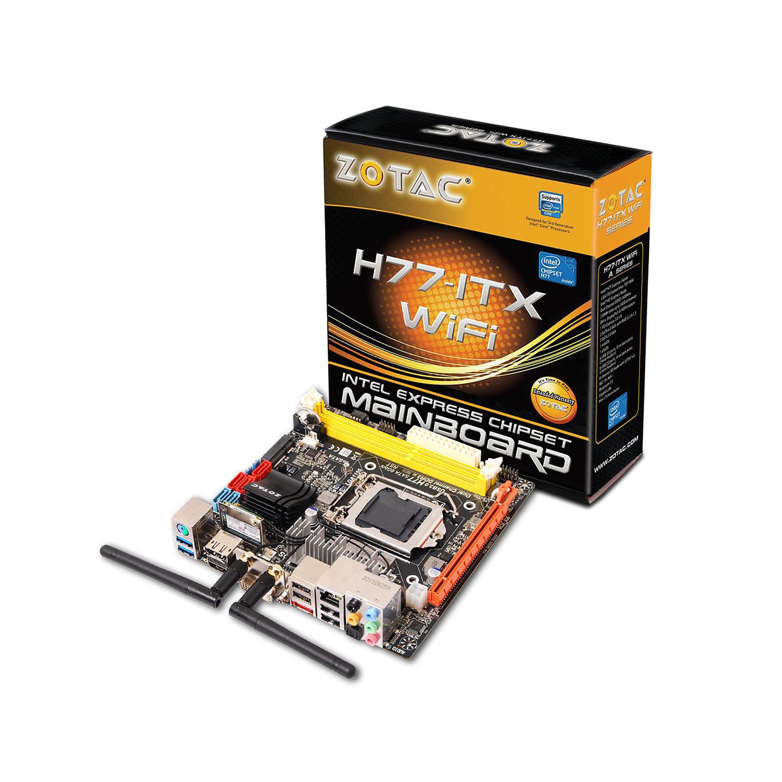 ZOTAC H77-ITX WiFi Mini ITX