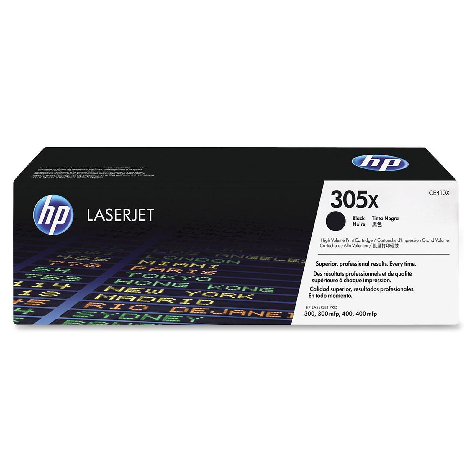 HP CE410X (Noir)