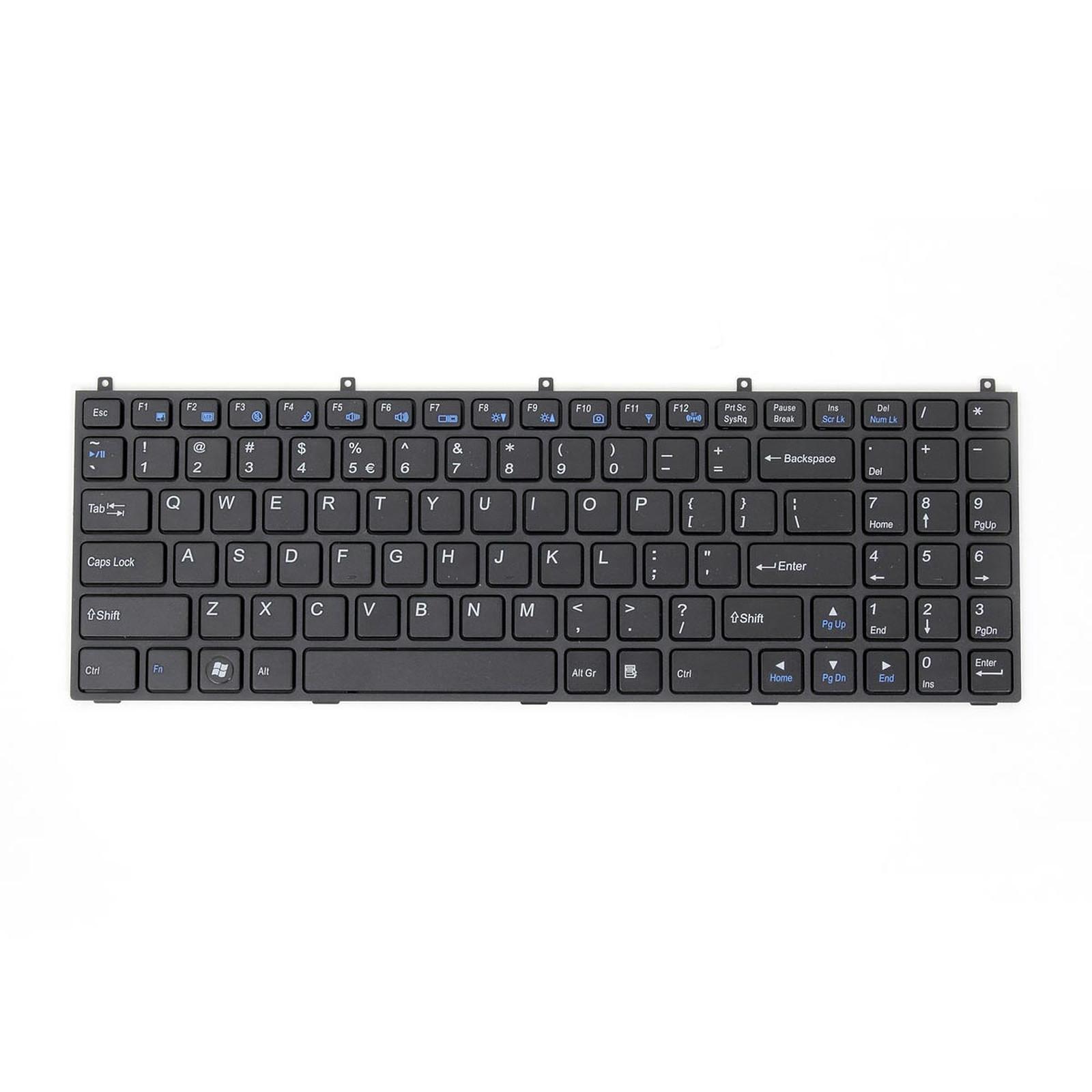 Clavier pour PC portable LDLC Aurore BB3/BB4/BG3/BG4 et Saturne SB3/SB4/SB5 (USA)