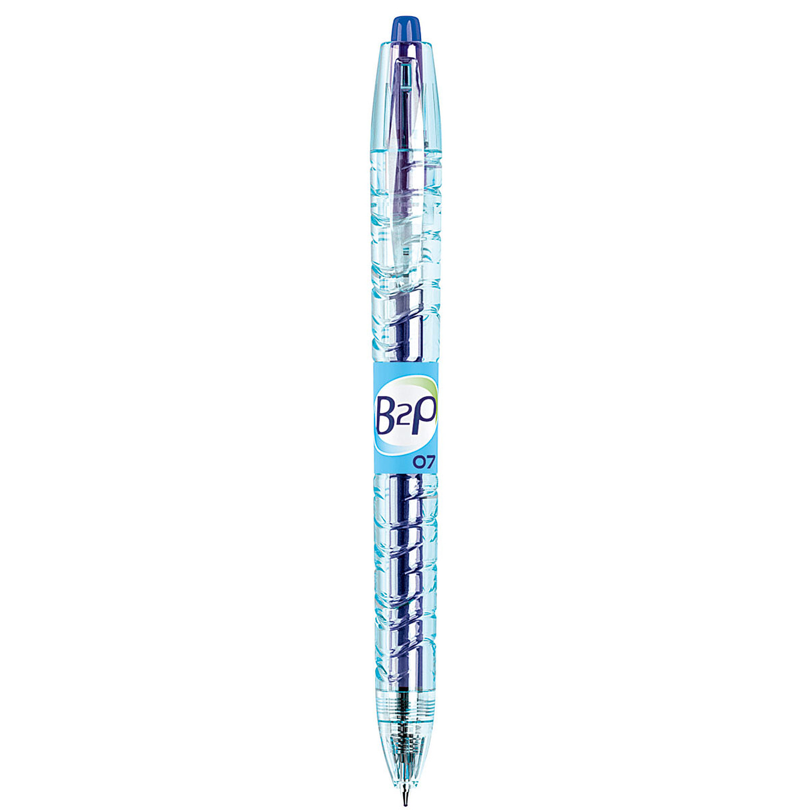 PILOT Begreen B2P bleu pointe 0,7mm