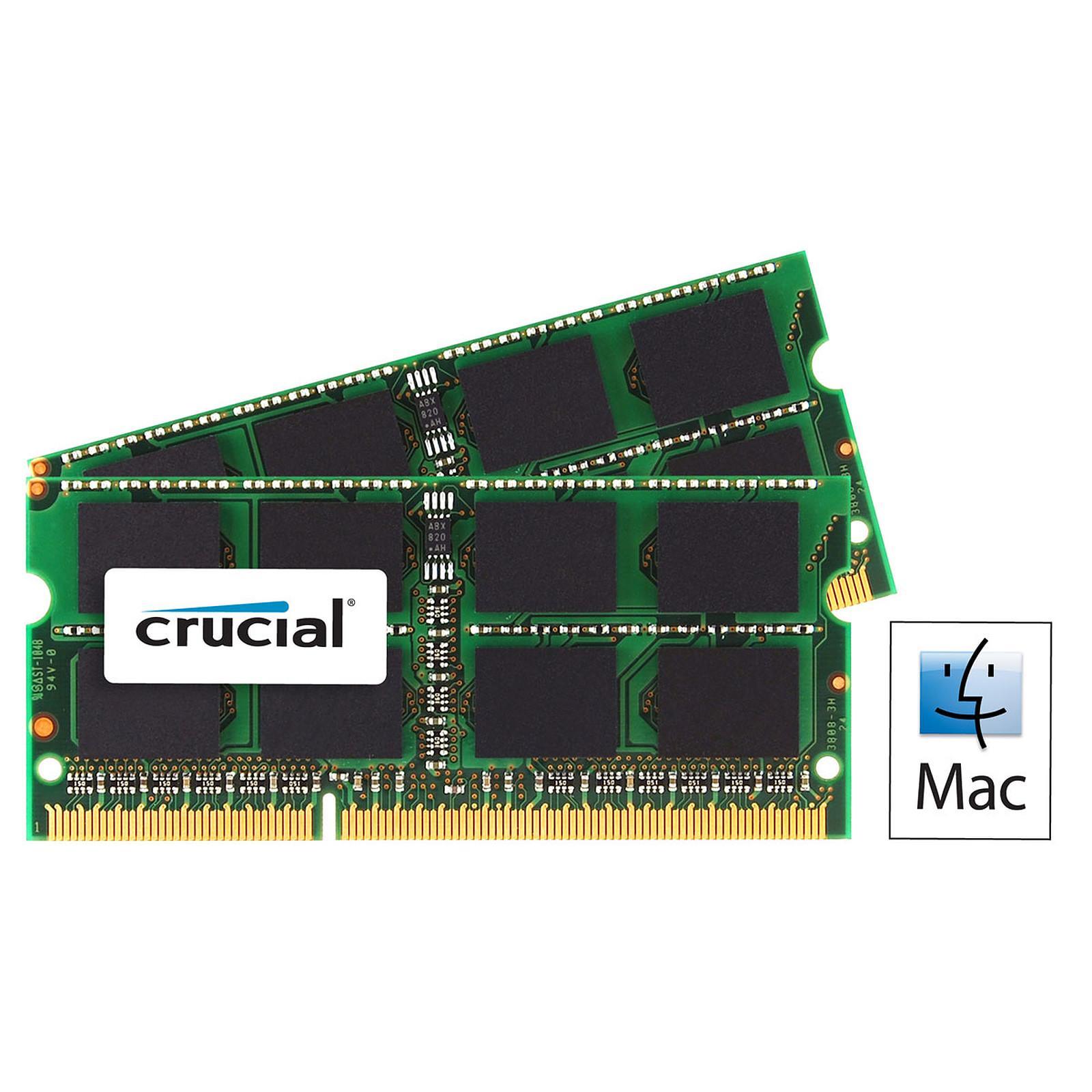Crucial for Mac SO-DIMM 8 Go (2 x 4 Go) DDR3 1333 MHz CL9
