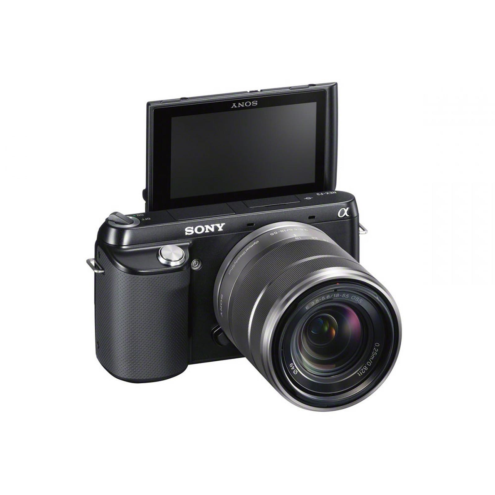 Sony NEX-F3 + Objectif 18-55 mm