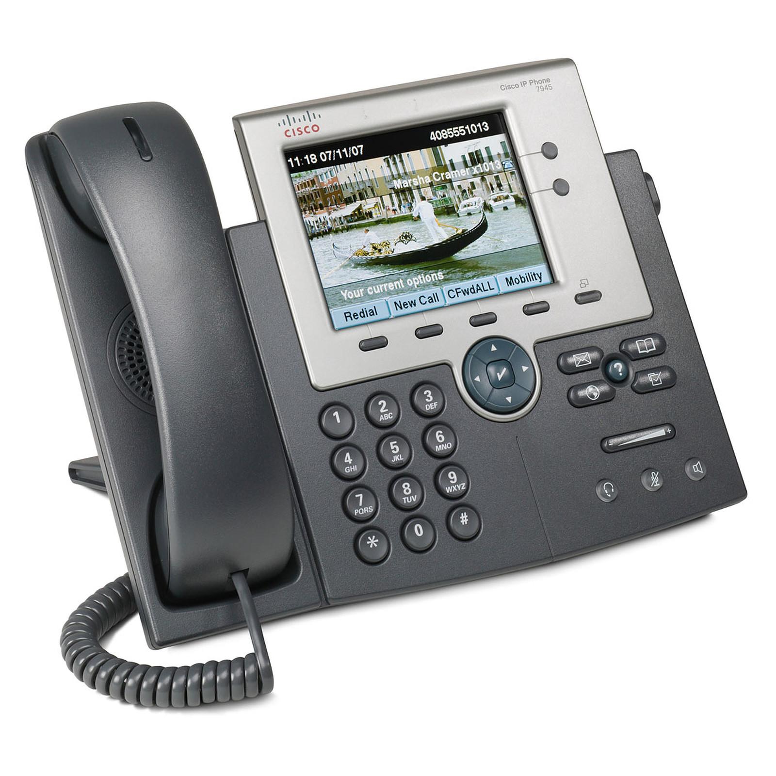 Cisco 7945g Téléphone Filaire Cisco Systems Sur Ldlccom