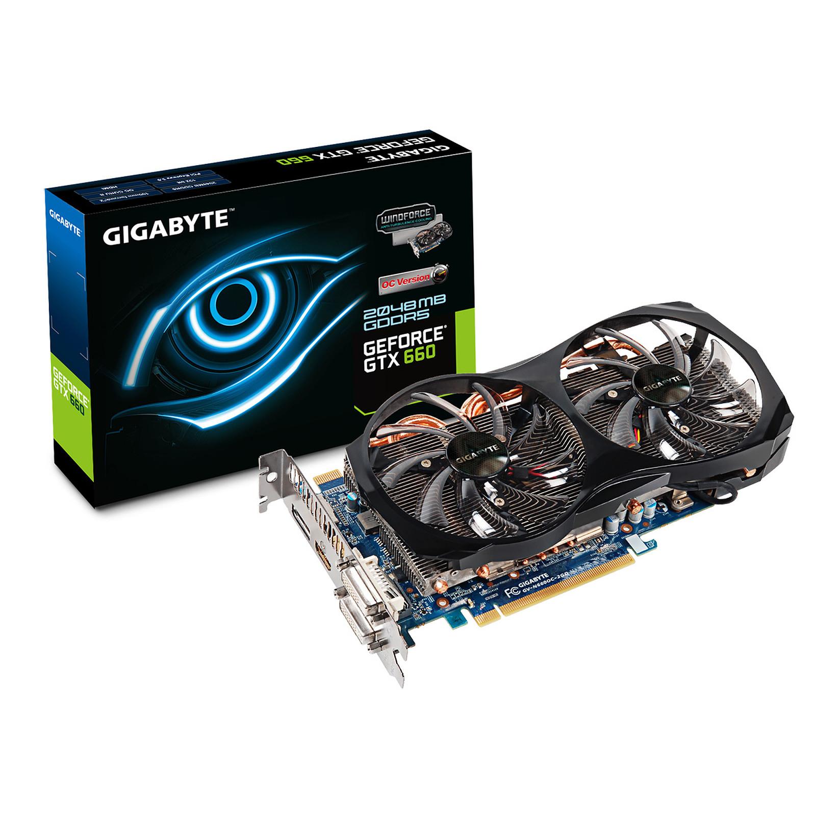 Gigabyte GeForce GTX 660 GV-N660OC-2GD