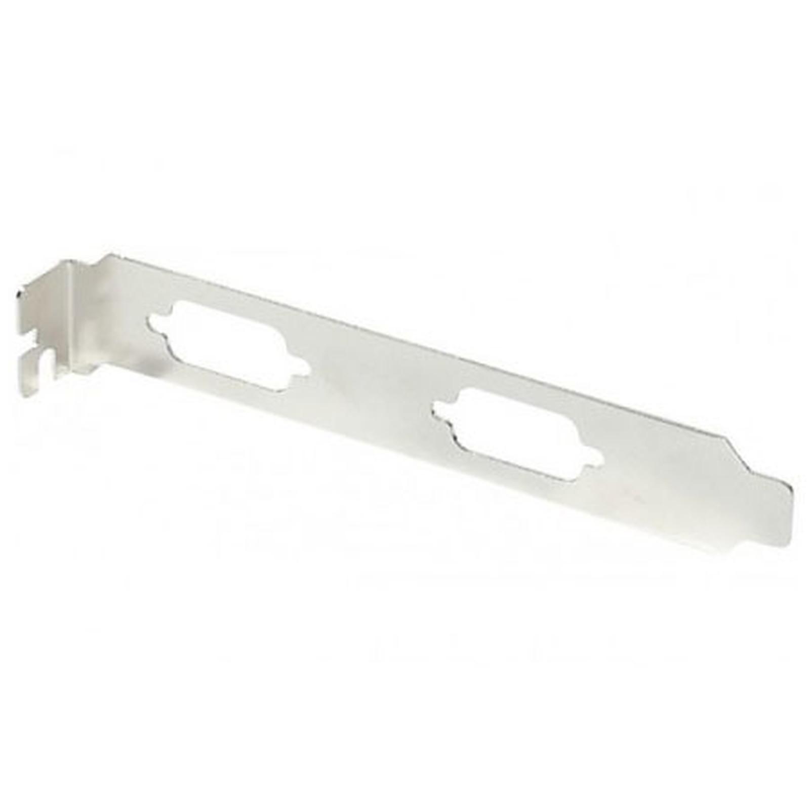 Équerre slot PCI pour 2 ports Série DB9