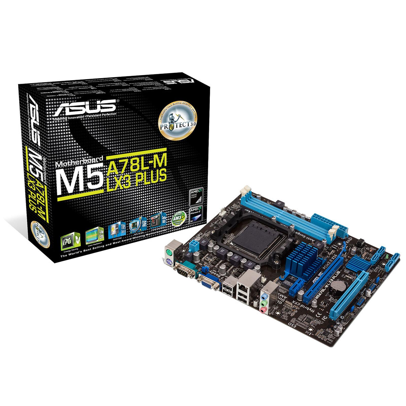 carte mere socket am3+ ASUS M5A78L M LX3   Carte mère ASUS sur LDLC.com