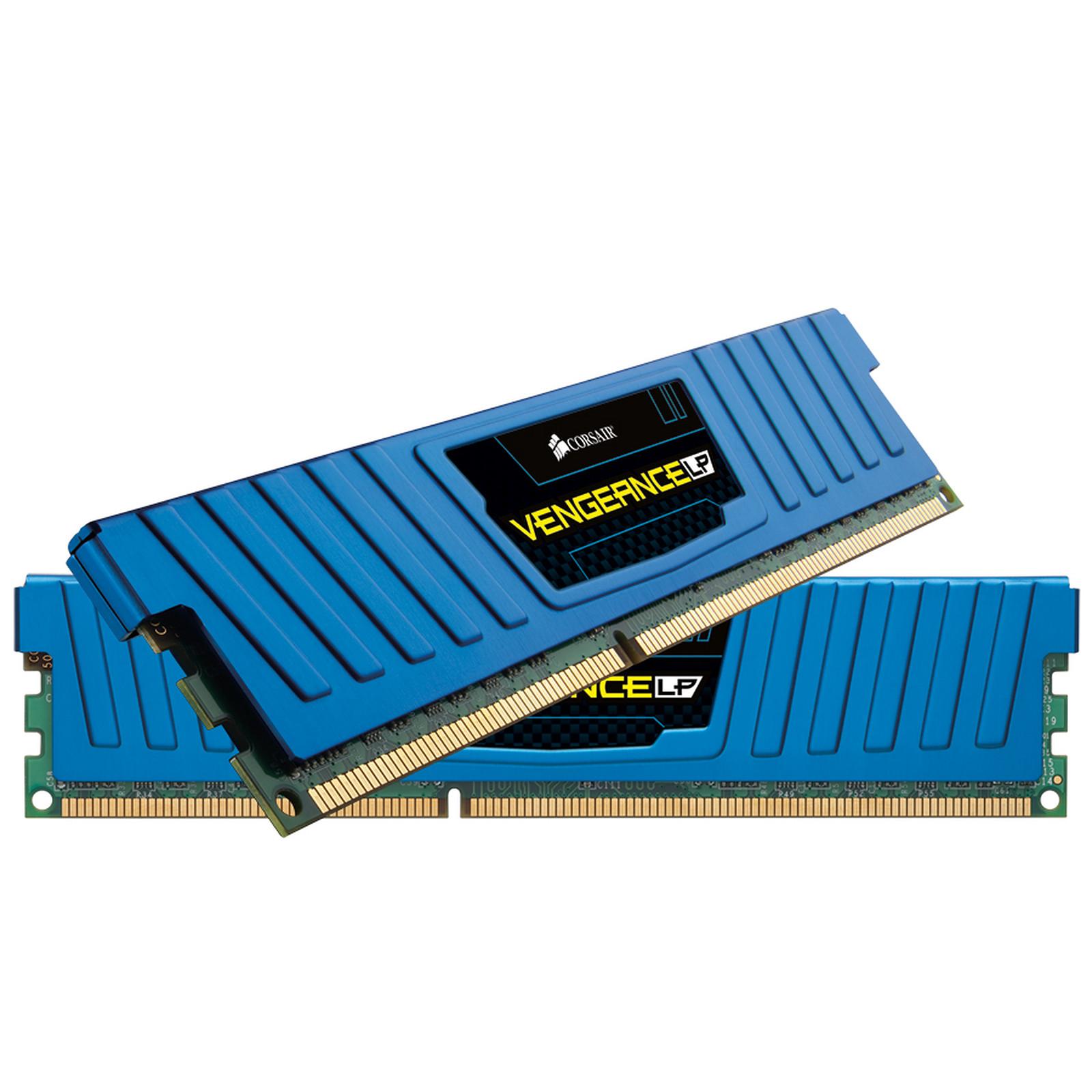 Corsair Vengeance Low Profile Series 16 Go (2x 8 Go) DDR3 1600 MHz CL10 Bleu