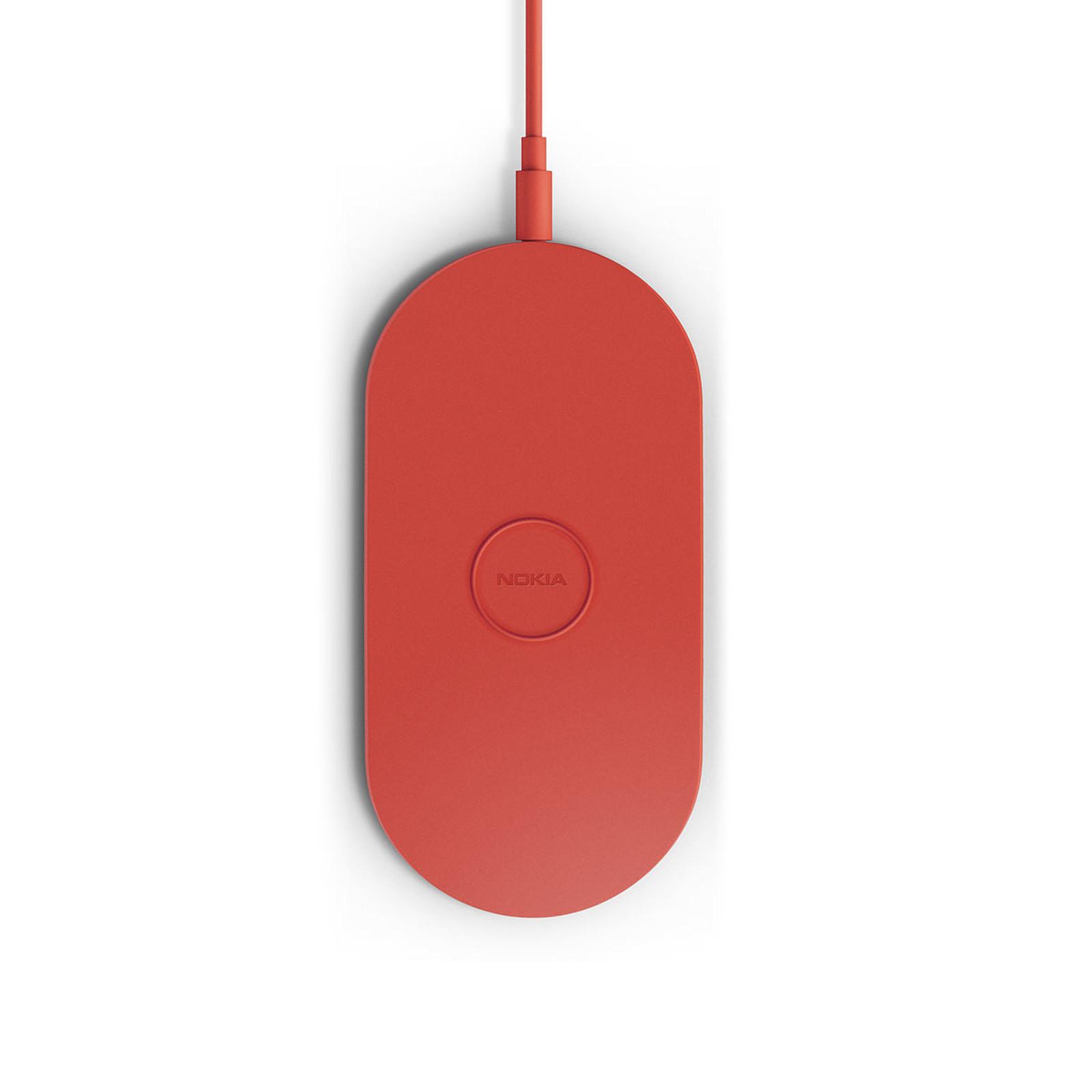 Nokia Socle de chargement sans fil DT900 Rouge