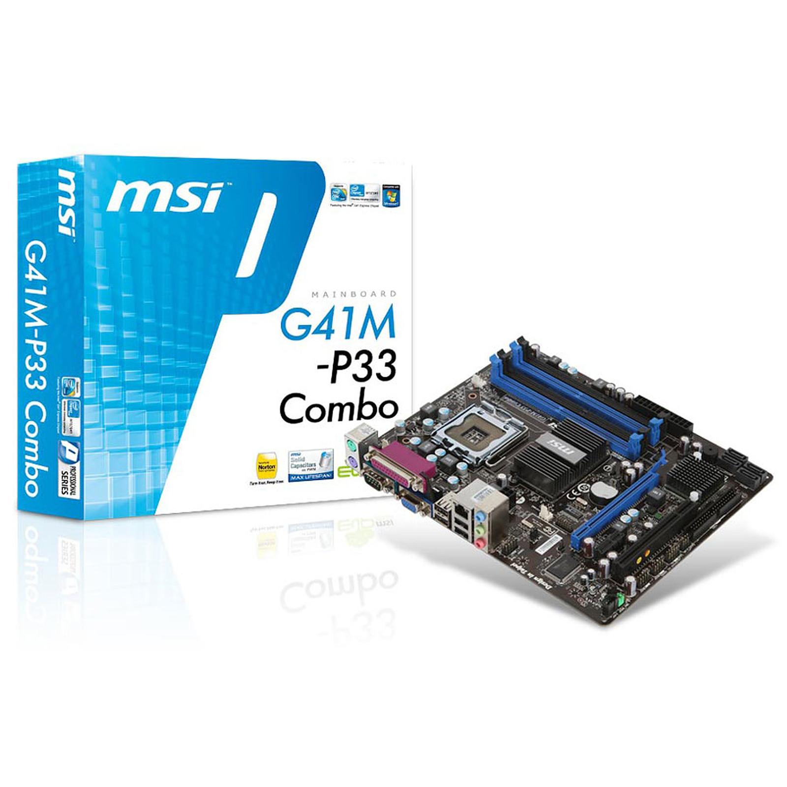 MSI G41M-P33 Combo