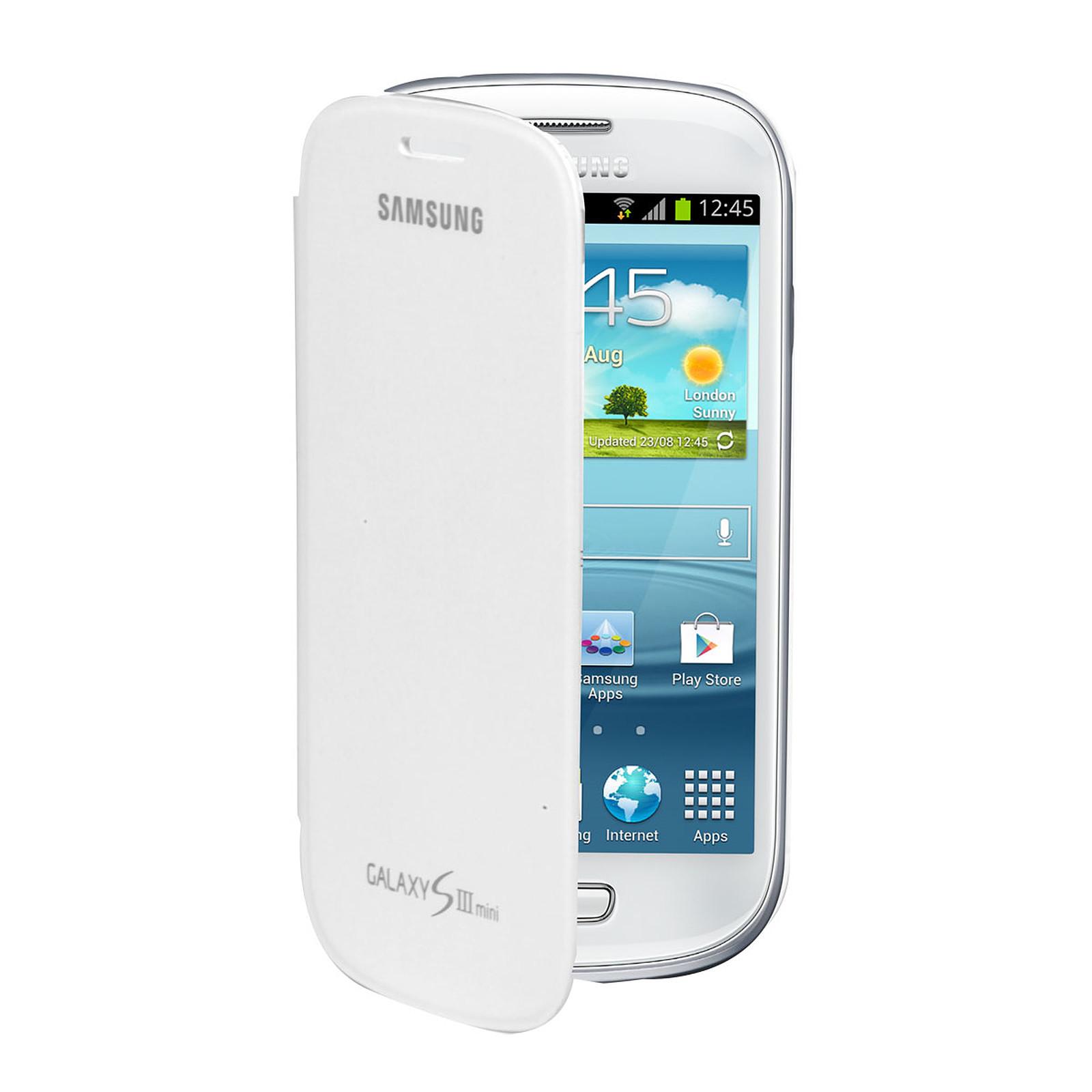 Samsung EFC-1M7FW - Etui Folio Blanc pour Galaxy SIII Mini