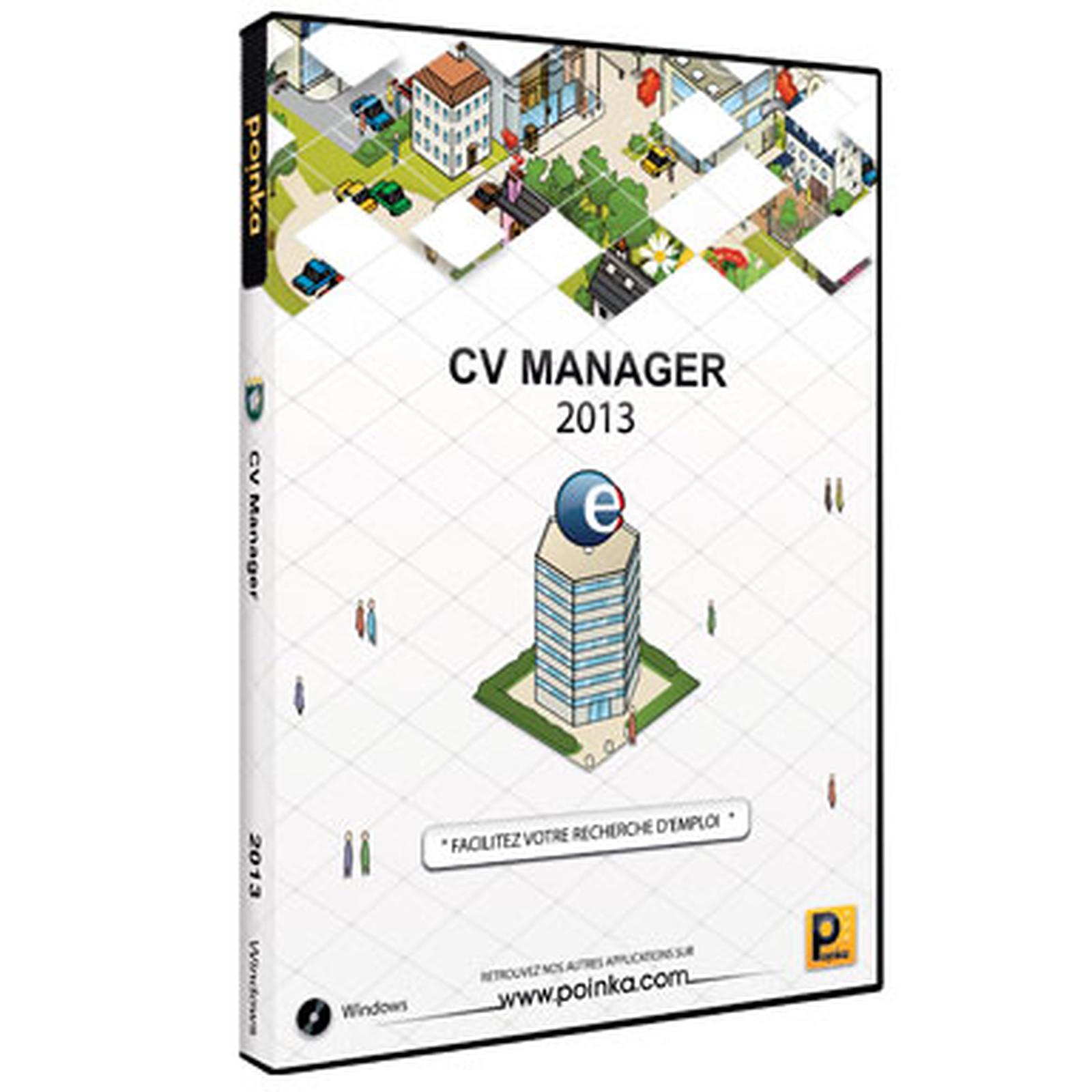 poinka cv manager 2013  fran u00e7ais  windows