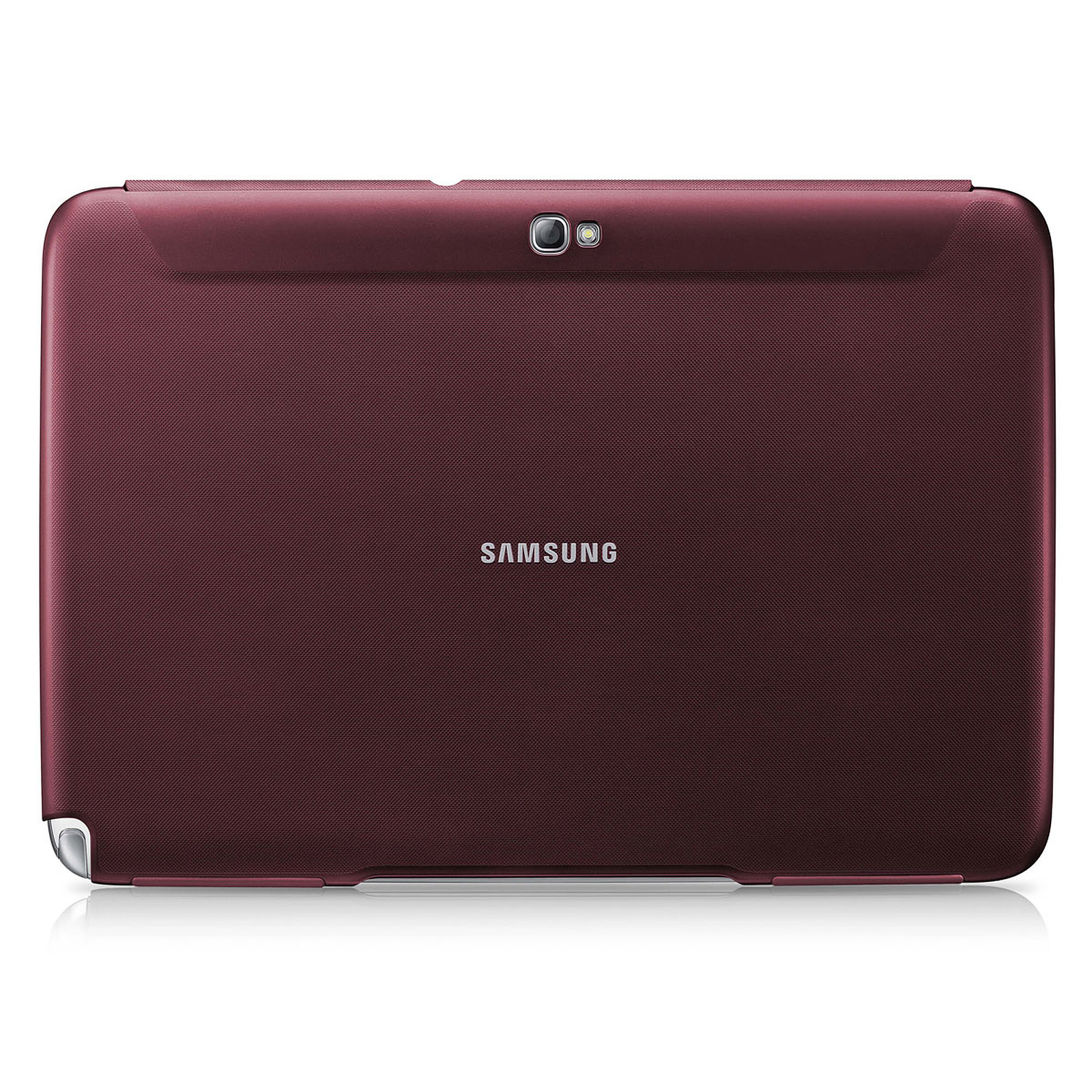 Samsung Book Cover Rouge (pour Samsung Galaxy Tab 2 10.1)