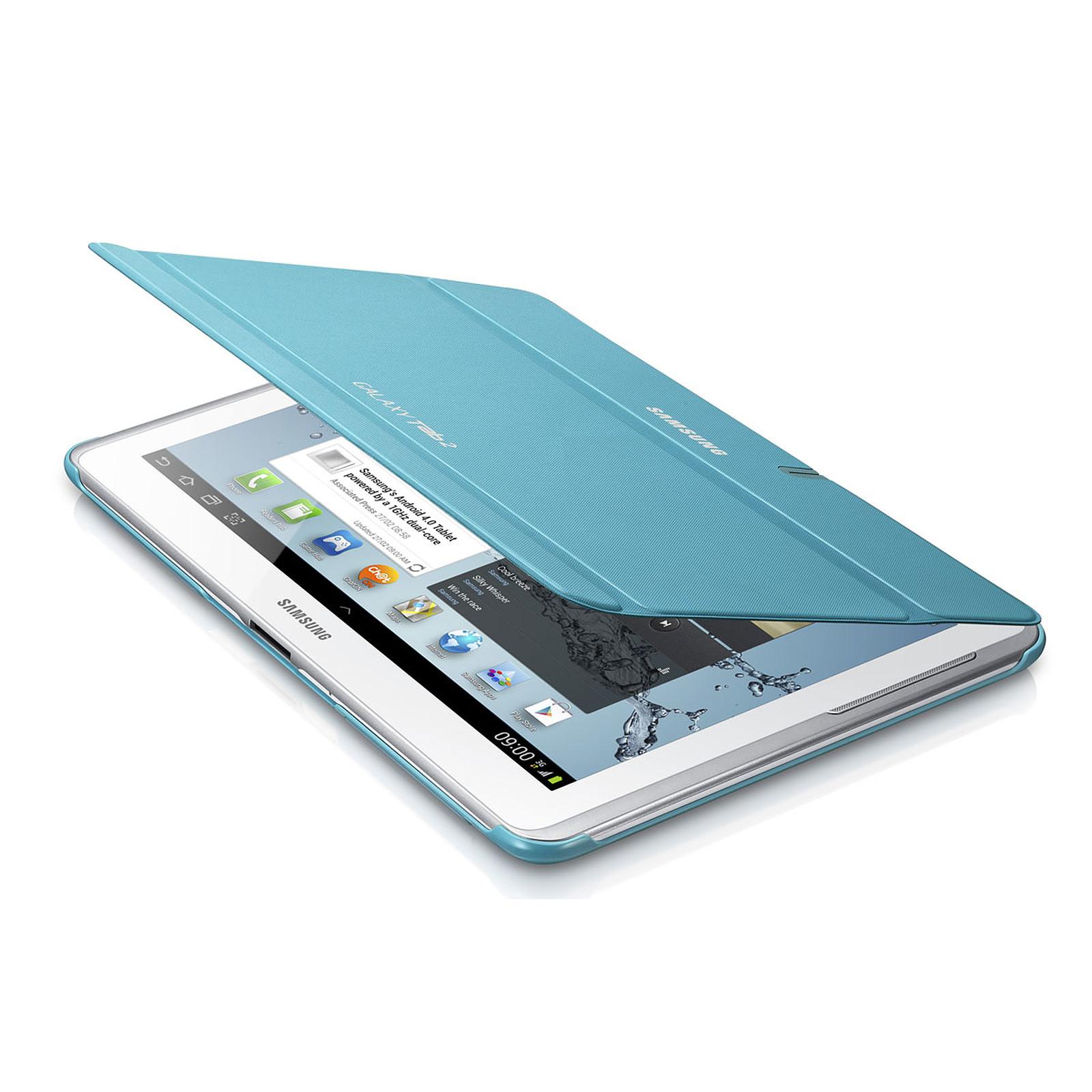 Samsung Book Cover Bleu (pour Samsung Galaxy Tab 2 10.1)