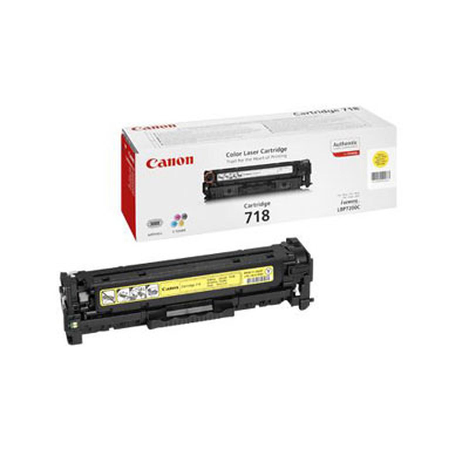 Canon 718 - Toner Jaune (pour i-SENSYS LBP7200Cdn)