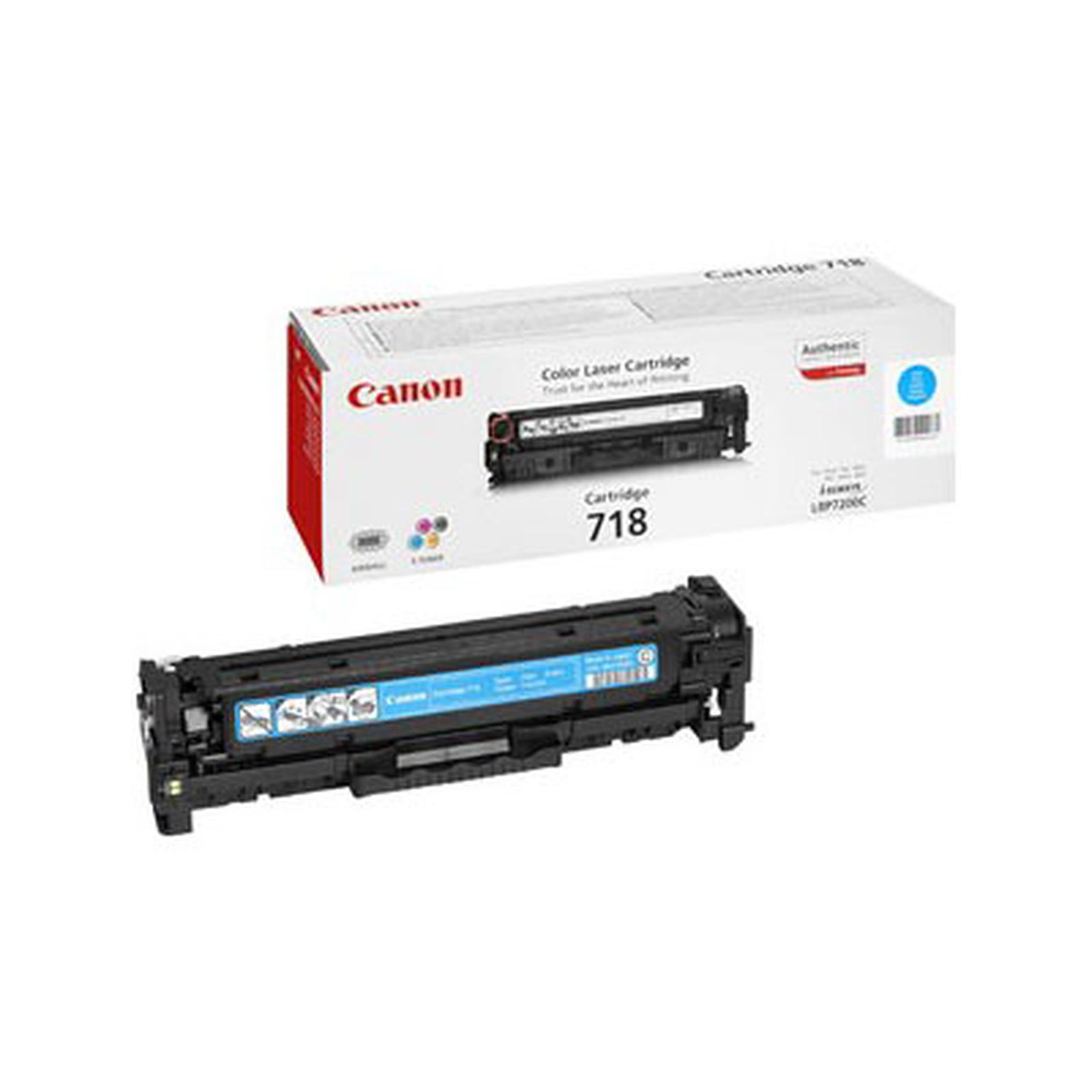 Canon 718 - Toner Cyan (pour i-SENSYS LBP7200Cdn)