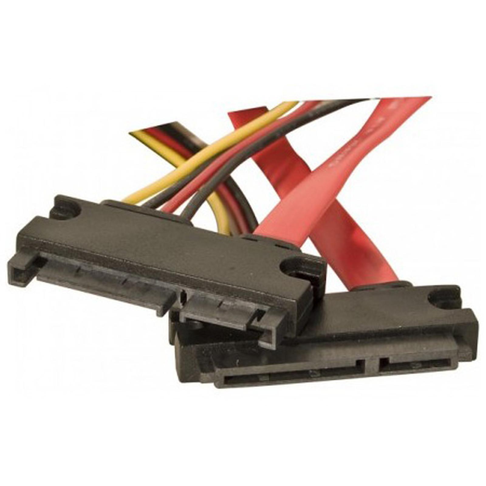 Alargador SATA 50 cm (alimentación + datos)