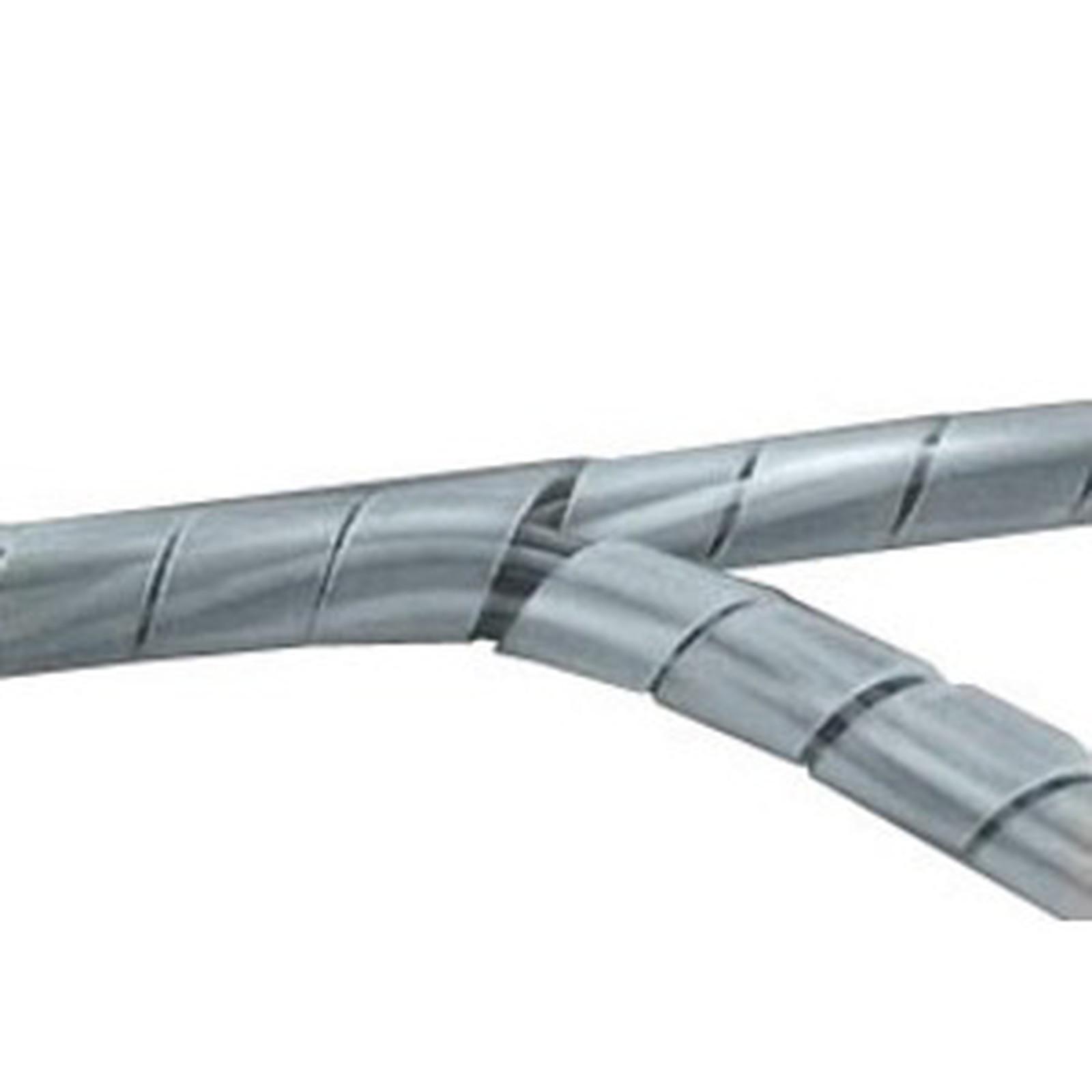 Gaine de rangement pour câbles - diamètre 65 mm max. - longueur 10 m (coloris blanc)