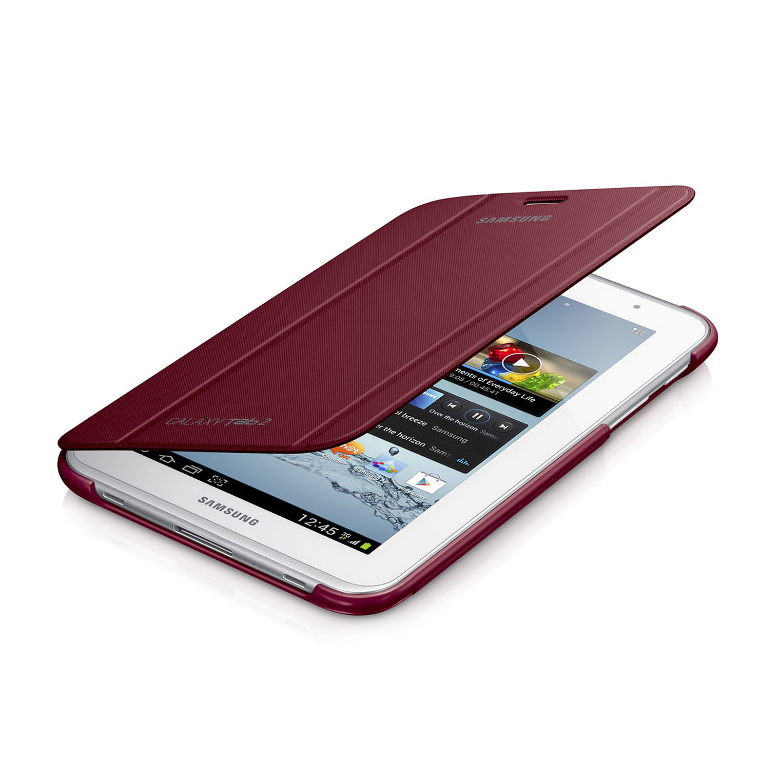 """Samsung Book Cover Rouge (pour Samsung Galaxy Tab 2 7.0"""")"""