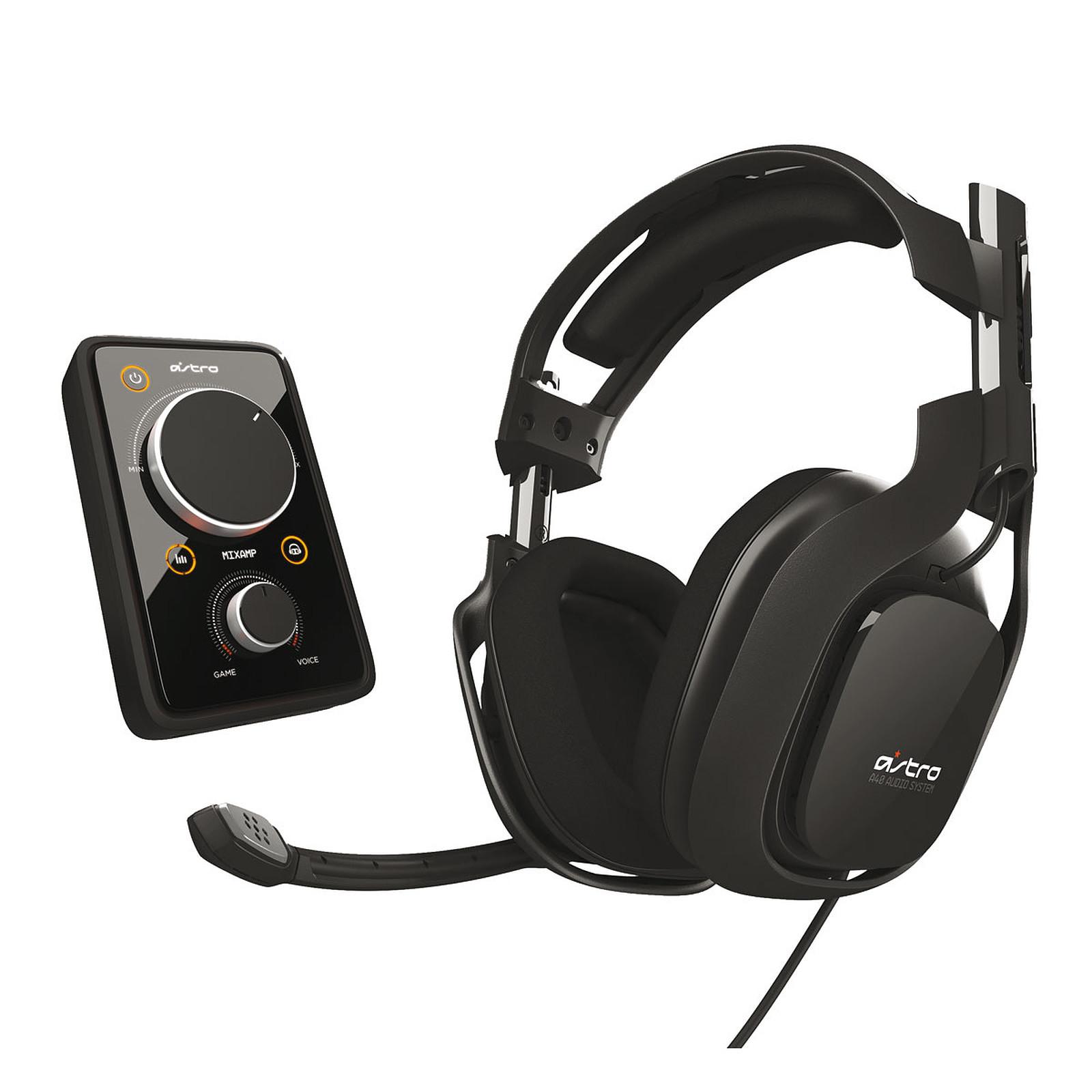 Astro A40 Noir (PS4/PS3/Xbox 360/PC)