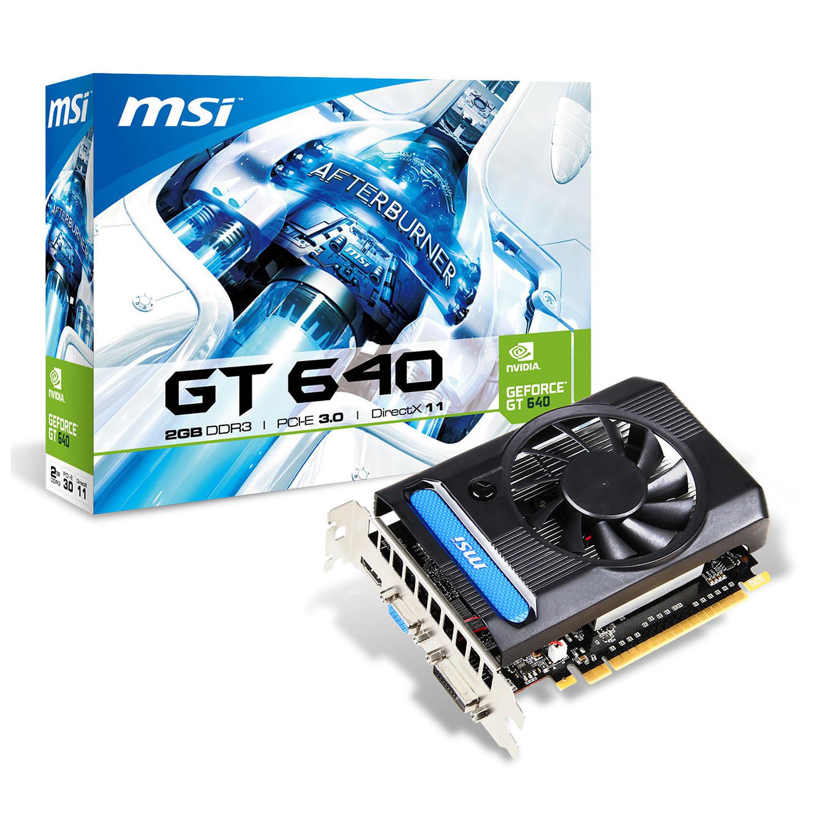 MSI GeForce GT 640 N640-2GD3 2 GB