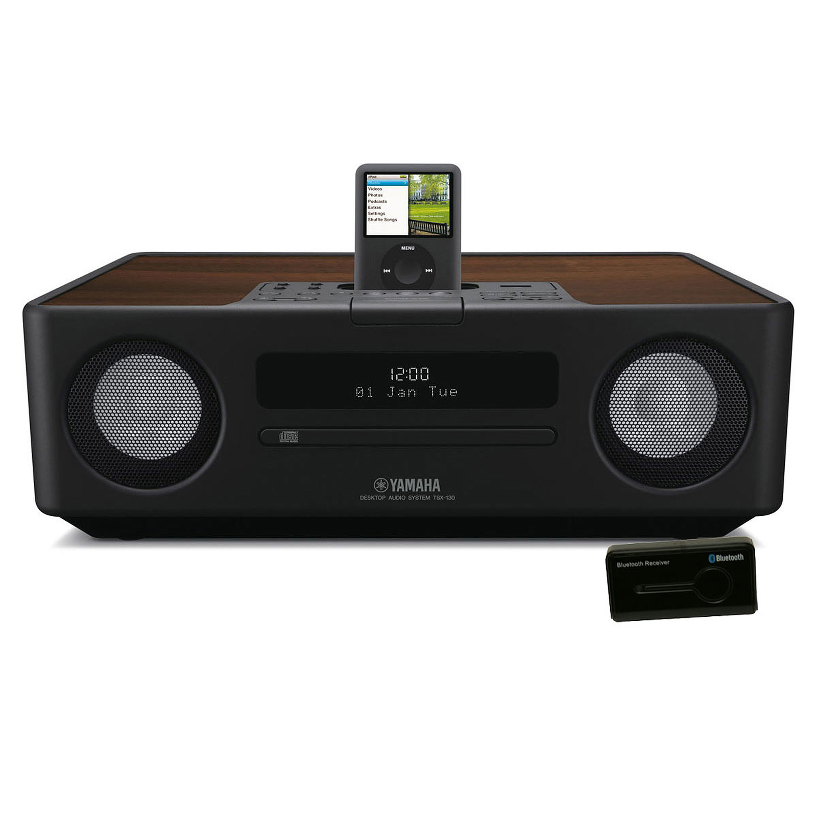 yamaha tsx 130 noir neo sound r cepteur bluetooth dock. Black Bedroom Furniture Sets. Home Design Ideas