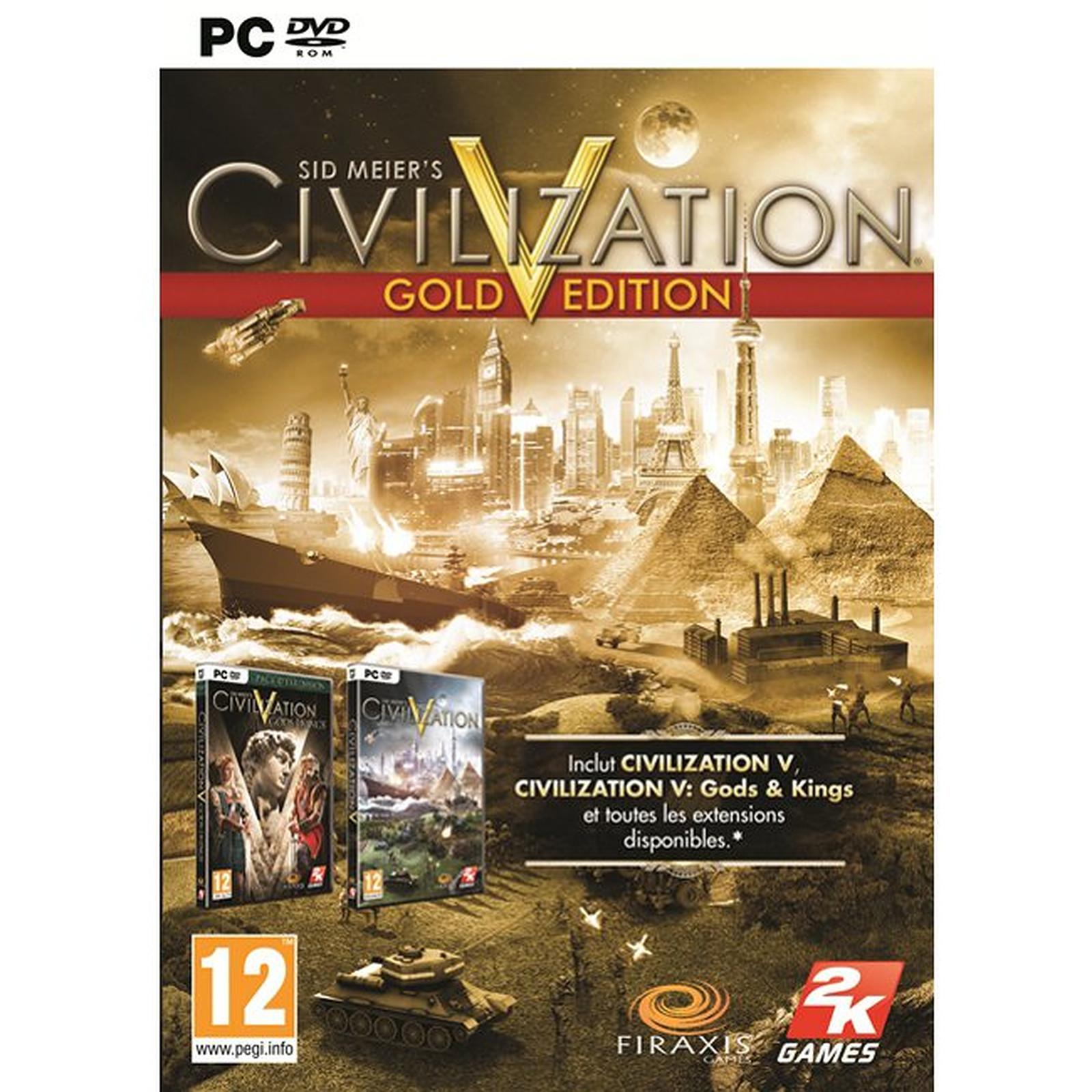 Sid Meier's Civilization V  Gold Edition (PC)