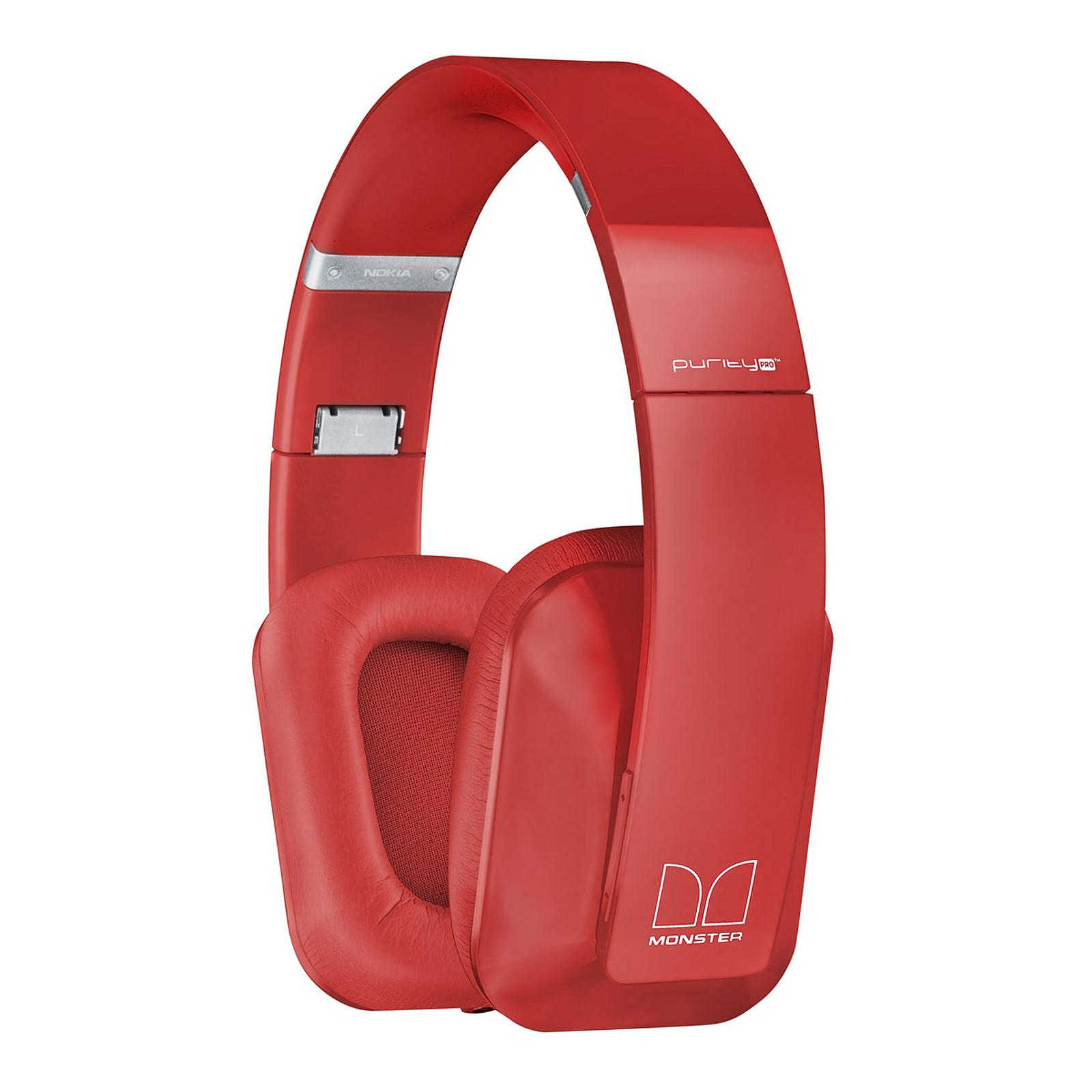 Nokia Casque stéréo sans fil Purity Pro Rouge