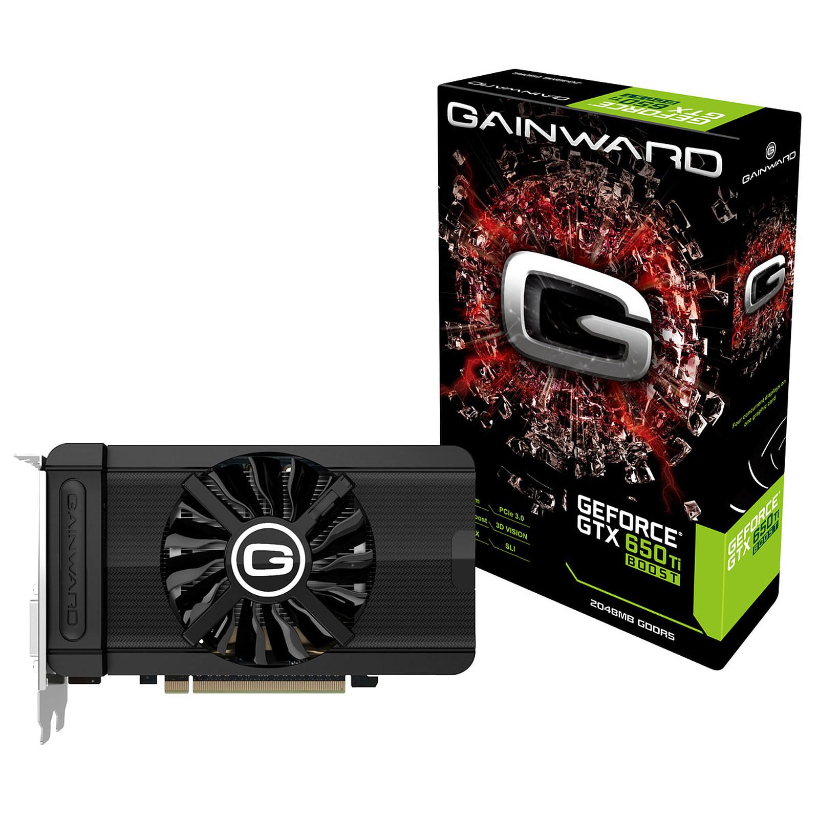 Gainward GeForce GTX 650 Ti BOOST 2 Go