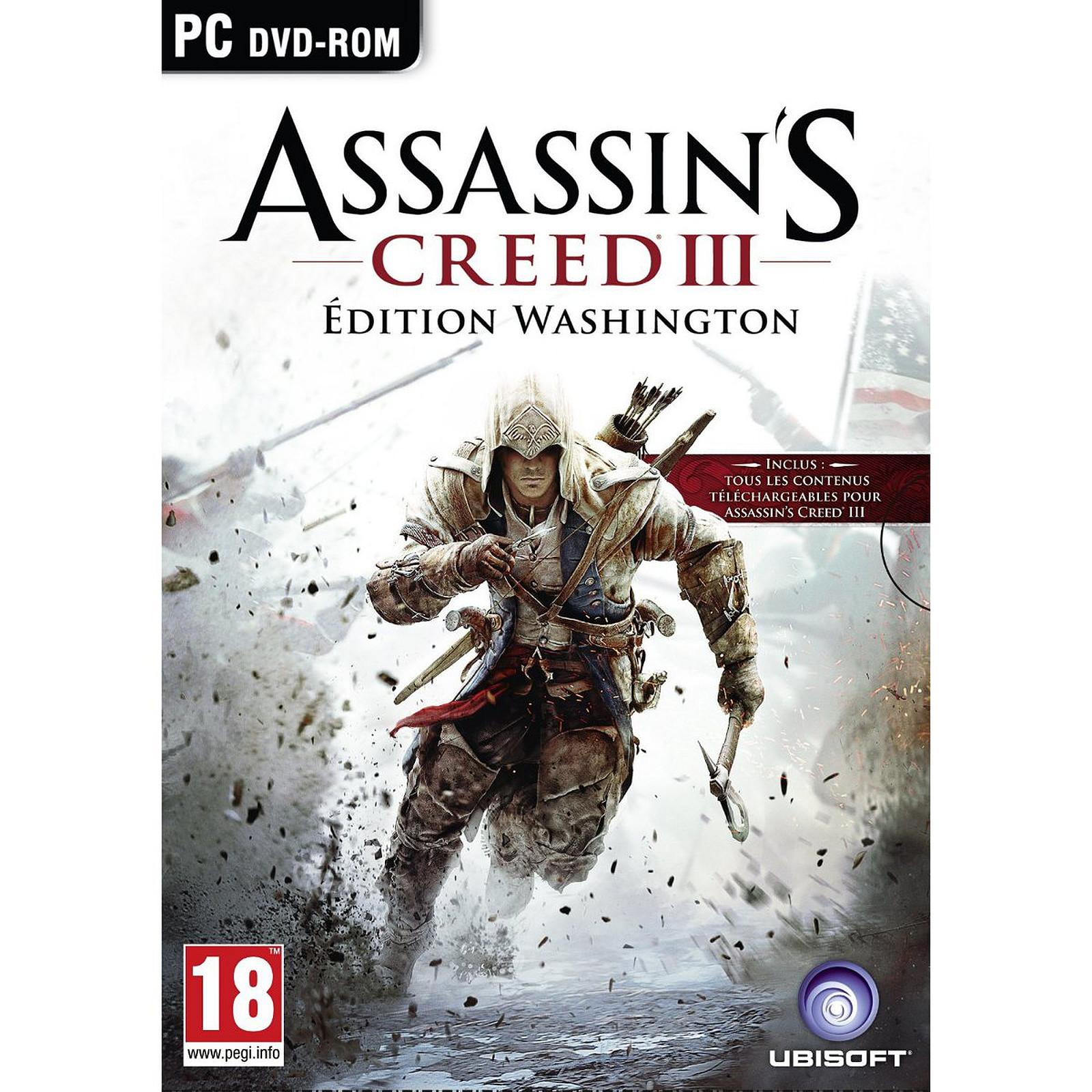 Assassin's Creed III - Édition Washington (PC)