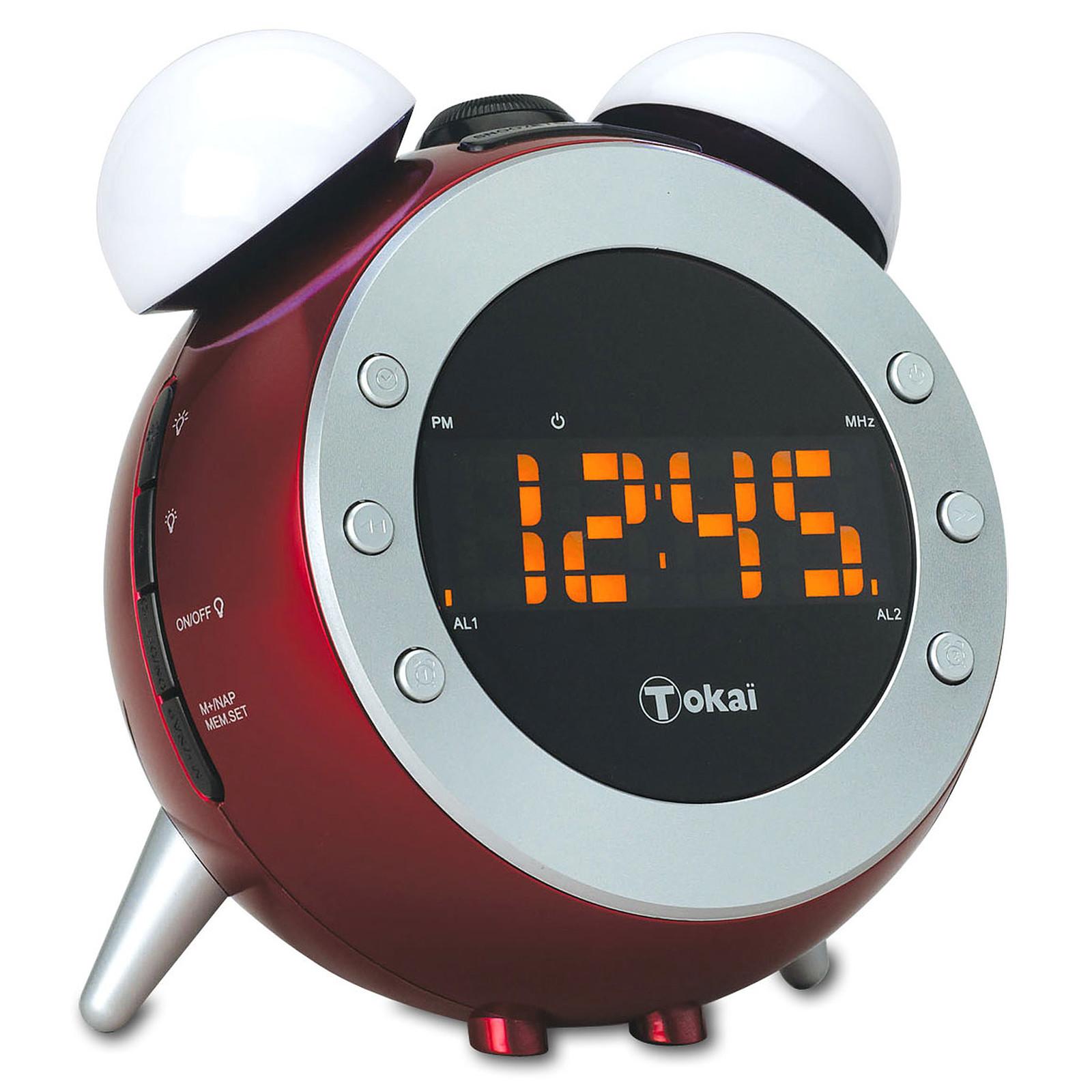 Tokai TCP 124 Rouge Radio & radio réveil Tokaï sur LDLC