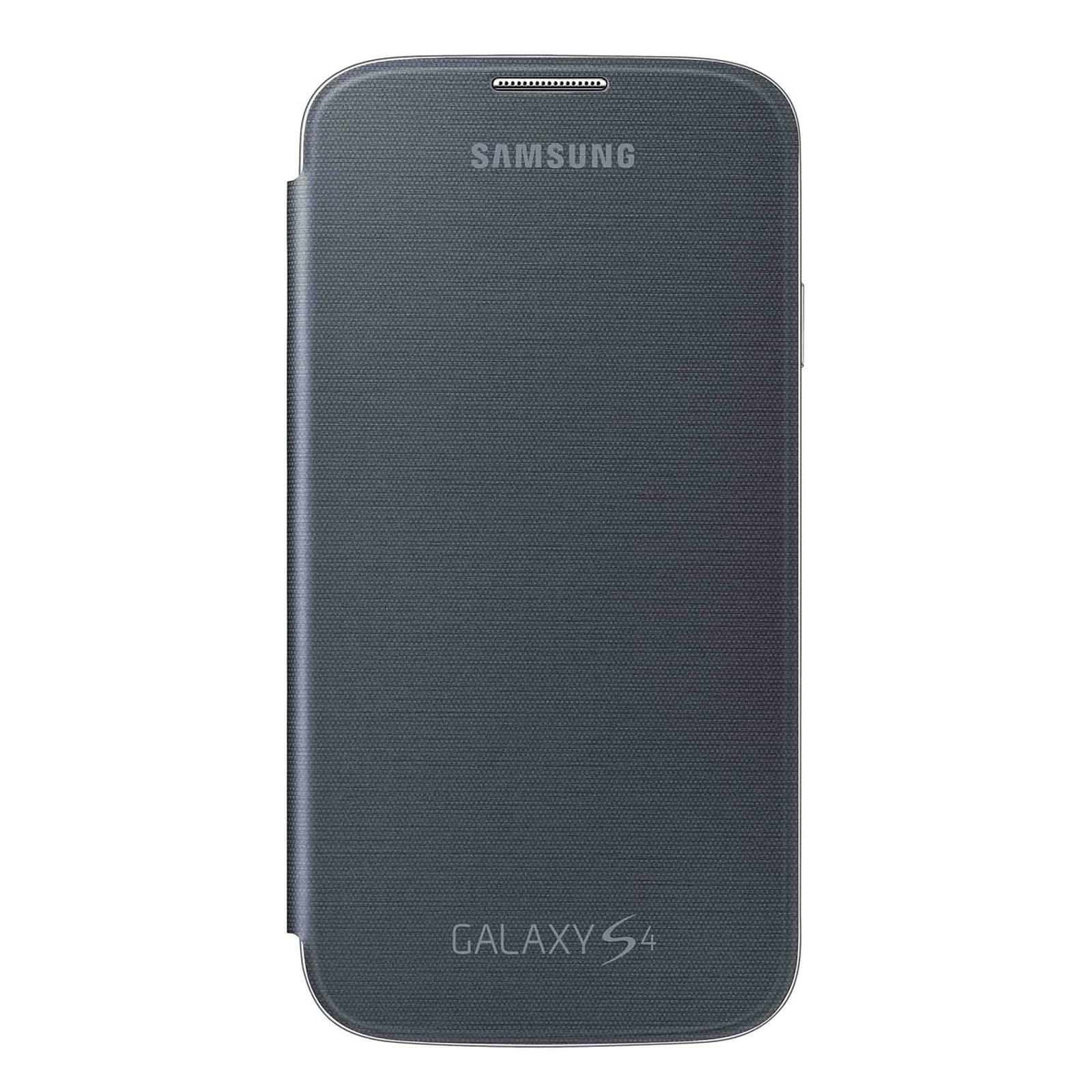 Samsung EF-FI950N - Etui Flip Cover Noir pour Galaxy S4