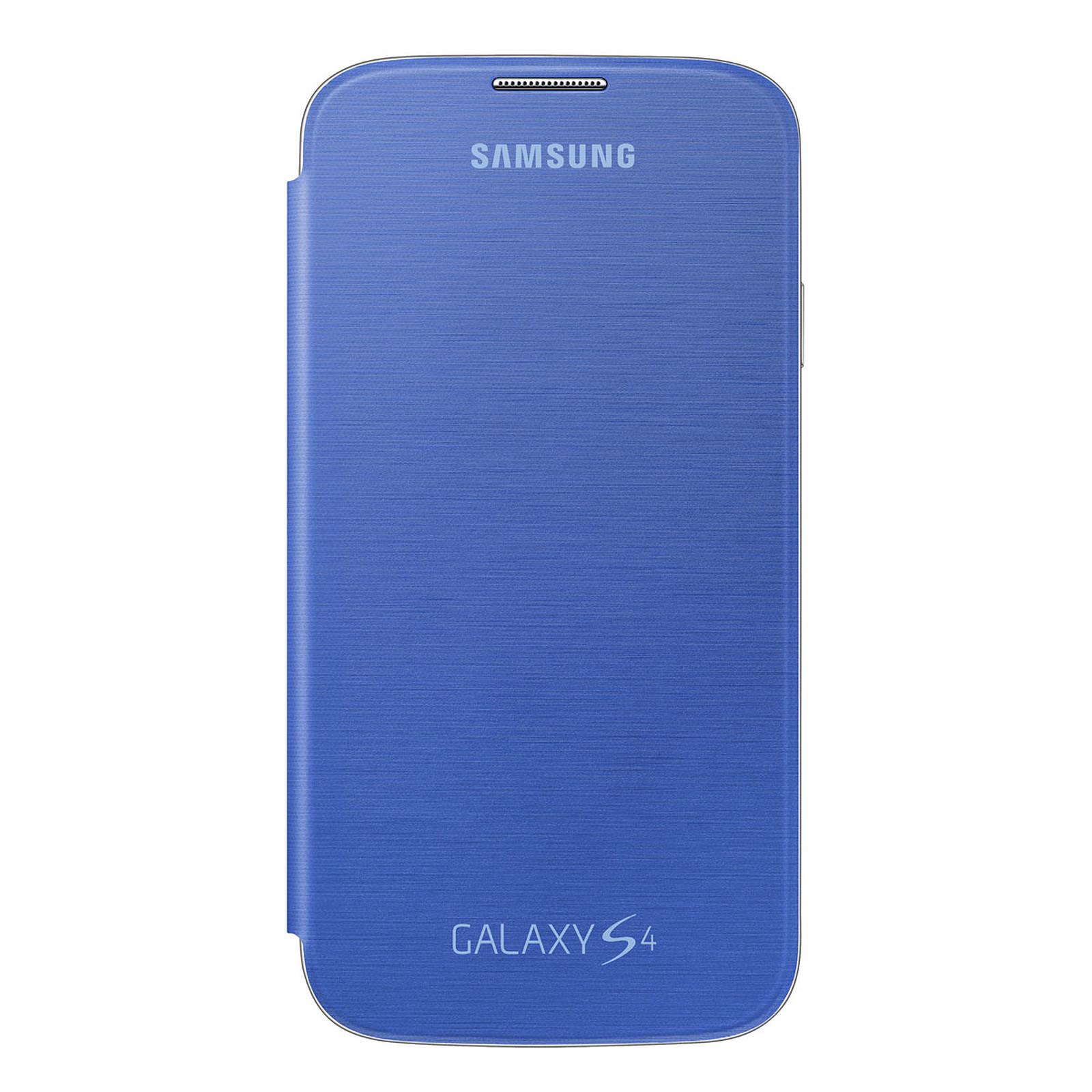 Samsung EF-FI950B - Etui Flip Cover Bleu pour Galaxy S4