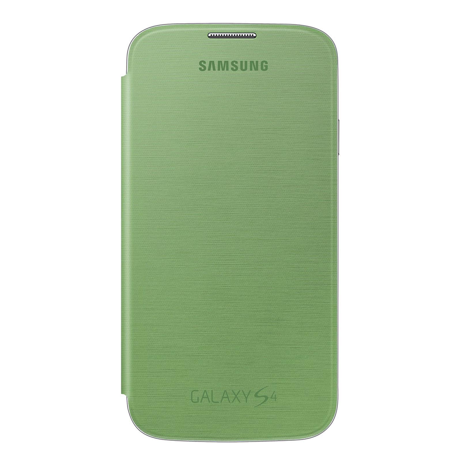 Samsung EF-FI950V - Etui Flip Cover Vert pour Galaxy S4
