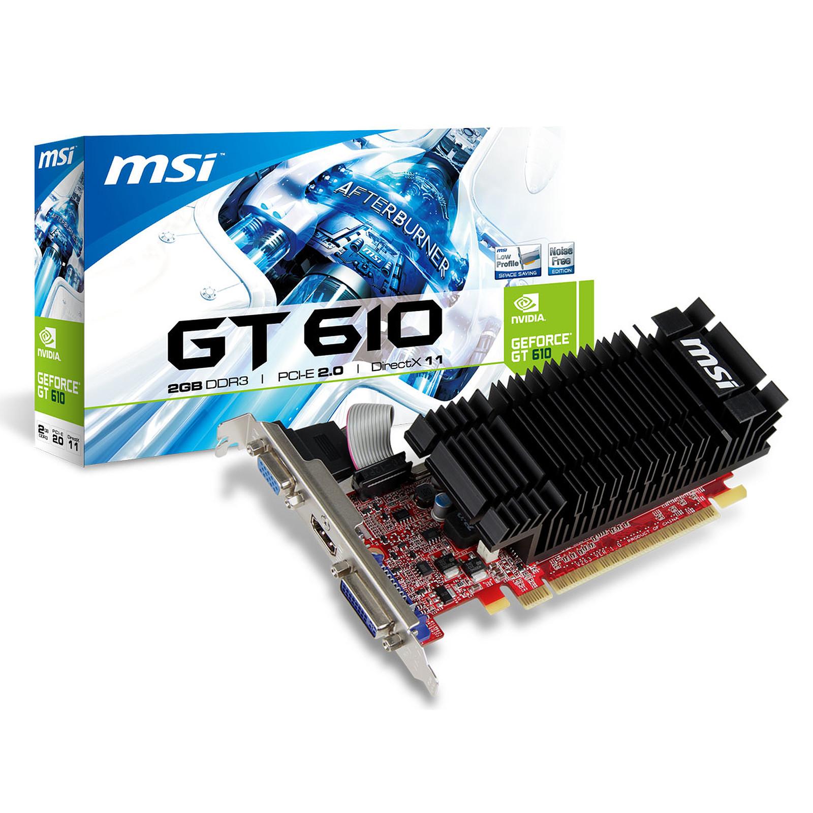 MSI N610-2GD3H/LP 2 GB