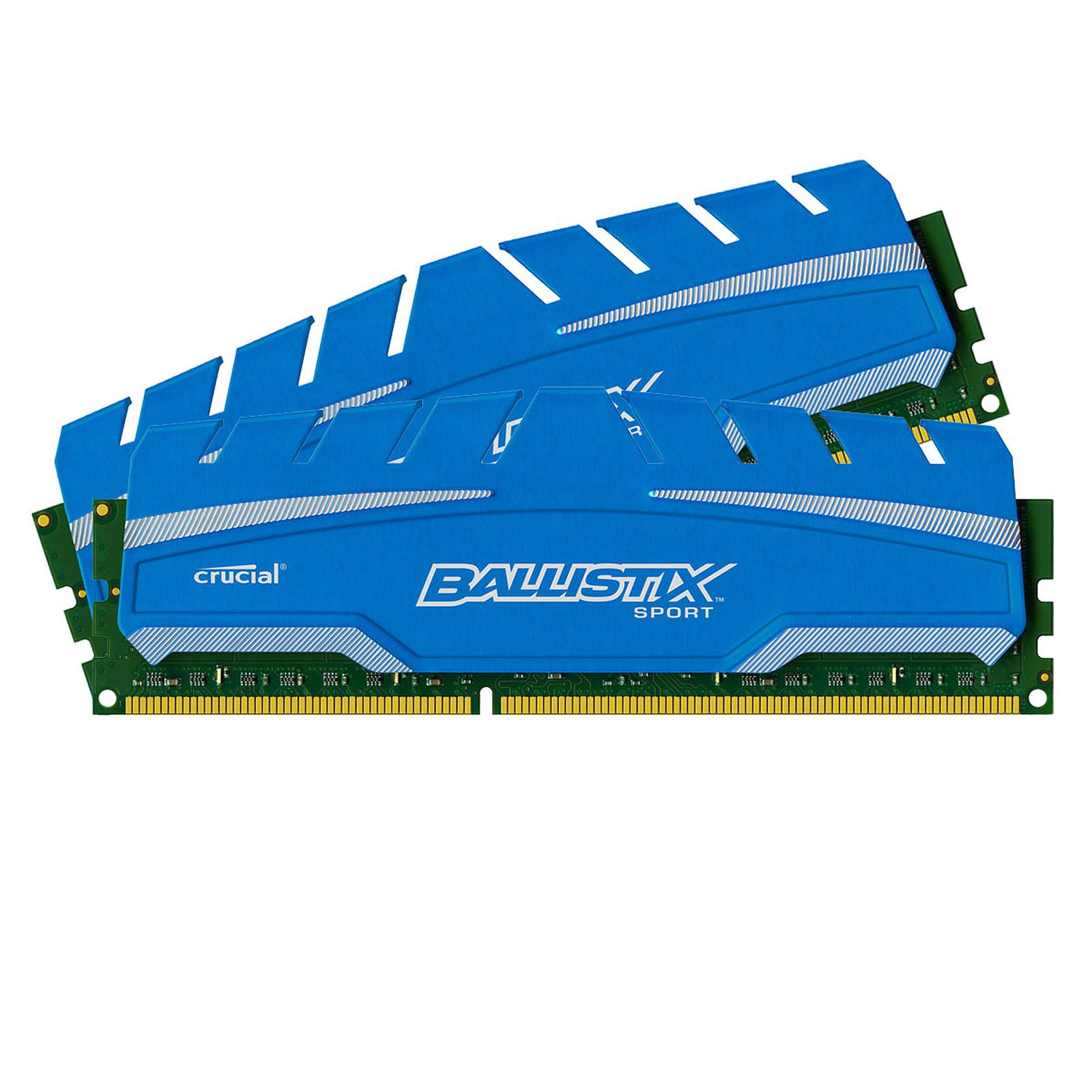 Ballistix Sport XT 8 Go (2 x 4 Go) DDR3 1600 MHz CL19