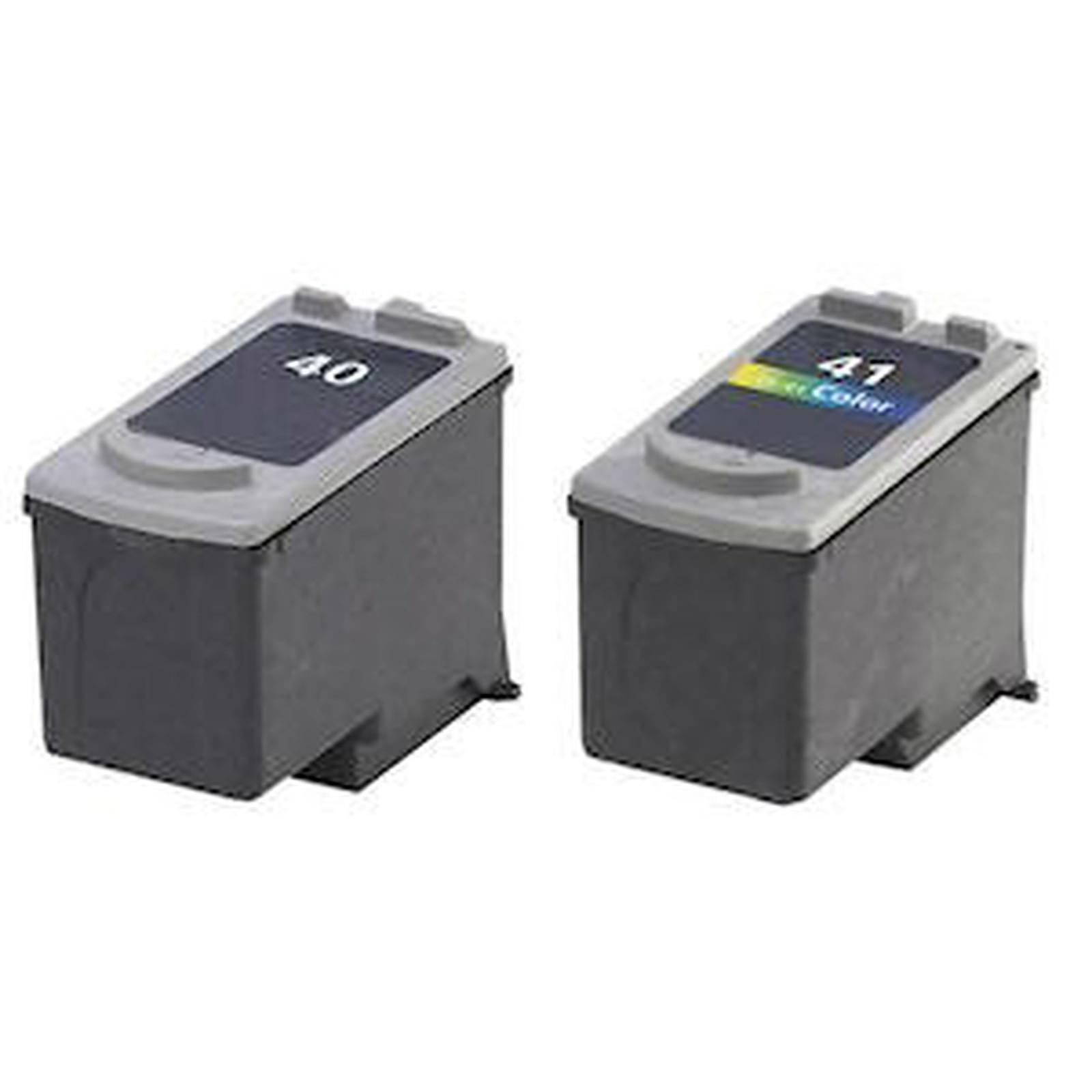 LDLC pack économique compatible Canon PG-40 / CL-41 (BK + C)