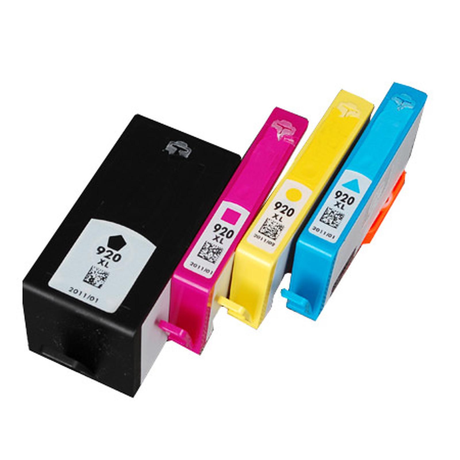 LDLC pack économique compatible HP 920 XL (BK + C + M + Y)