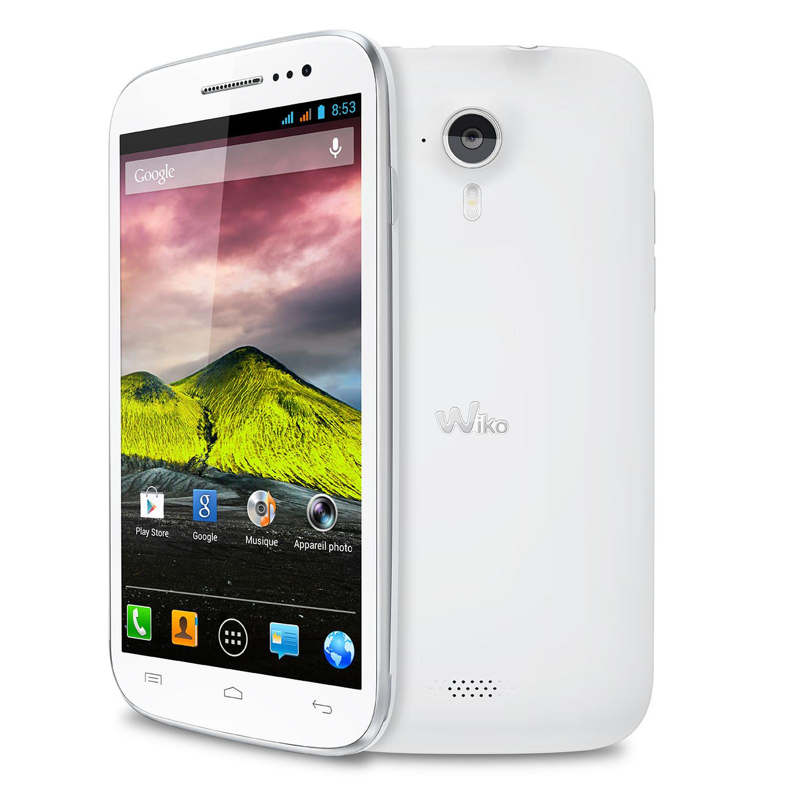 444fd033b4d18 Wiko Cink Five Blanc - Mobile   smartphone Wiko sur LDLC.com