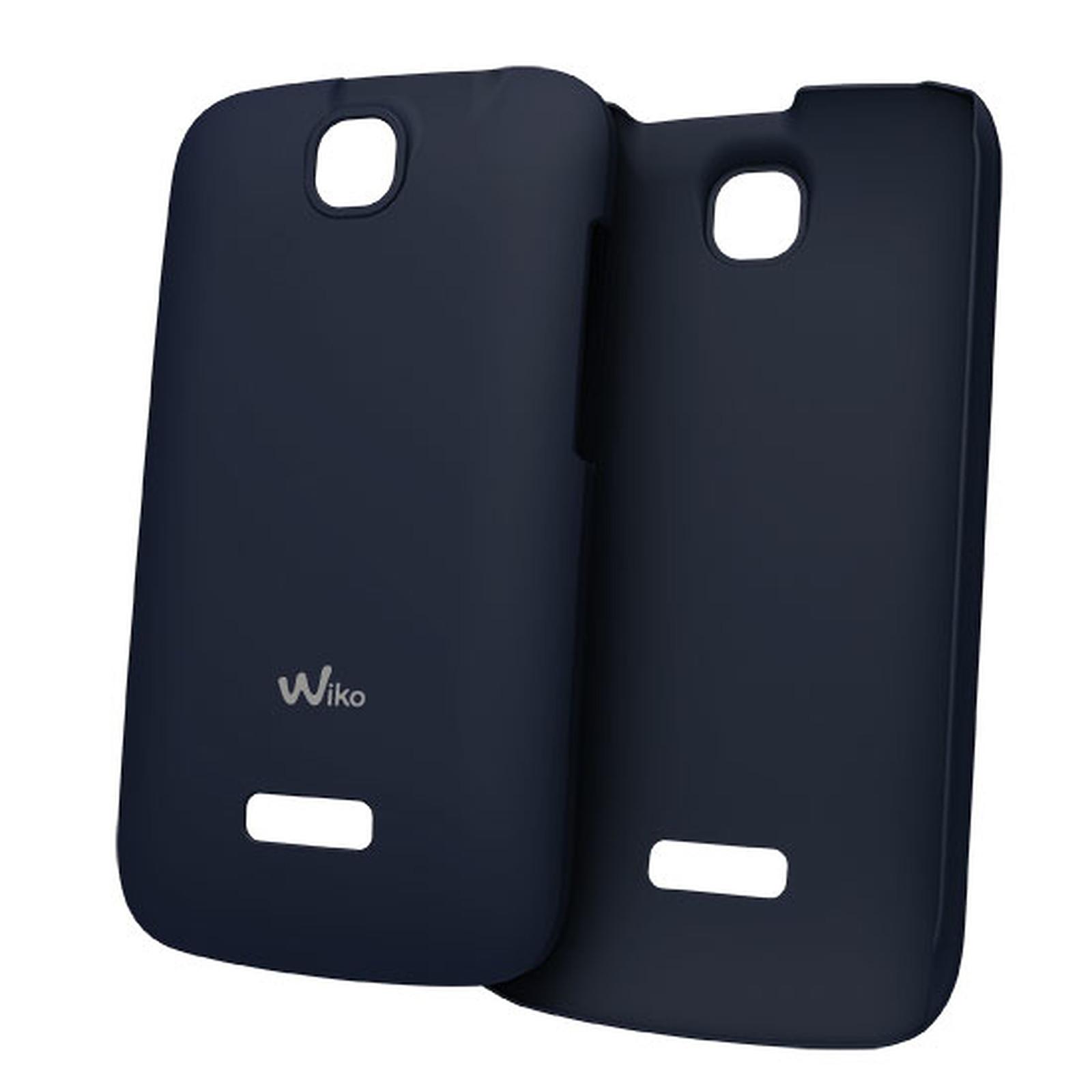 Wiko Coque Ultra Fine Bleu Wiko Cink +