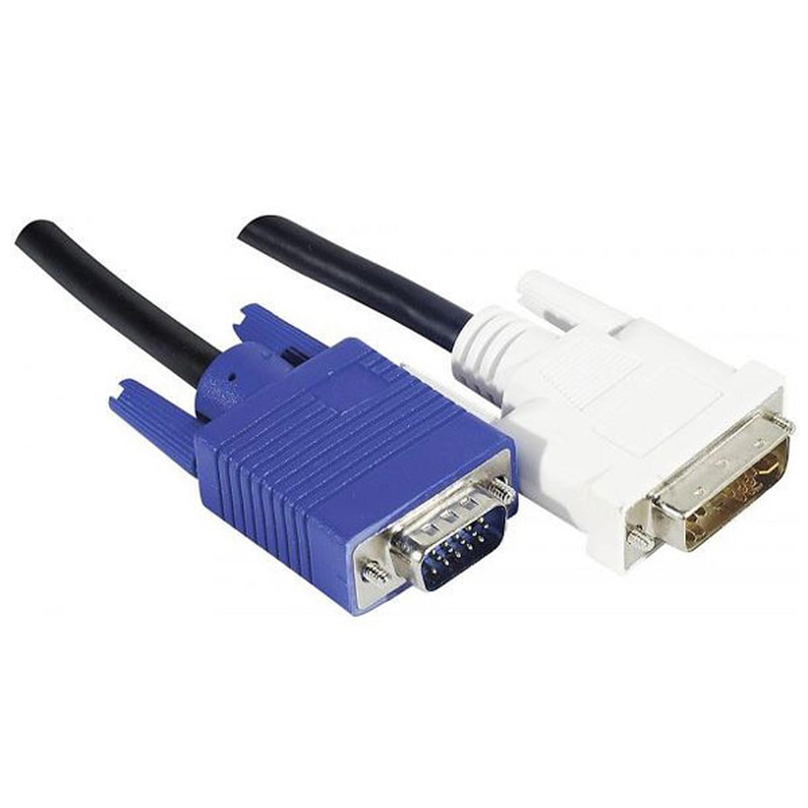 Cordon DVI-A / VGA (3 mètres)