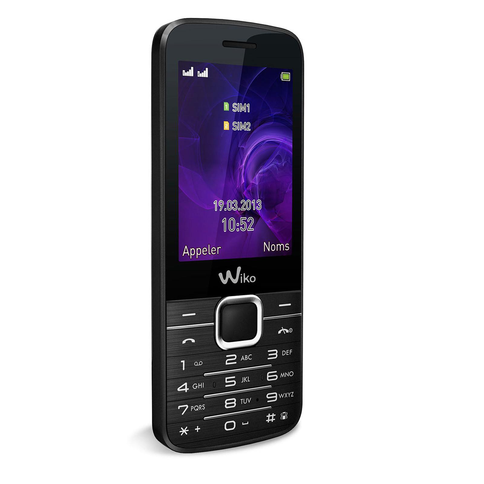 Wiko Kar 2 Noir - Mobile & smartphone Wiko sur LDLC.com   Muséericorde