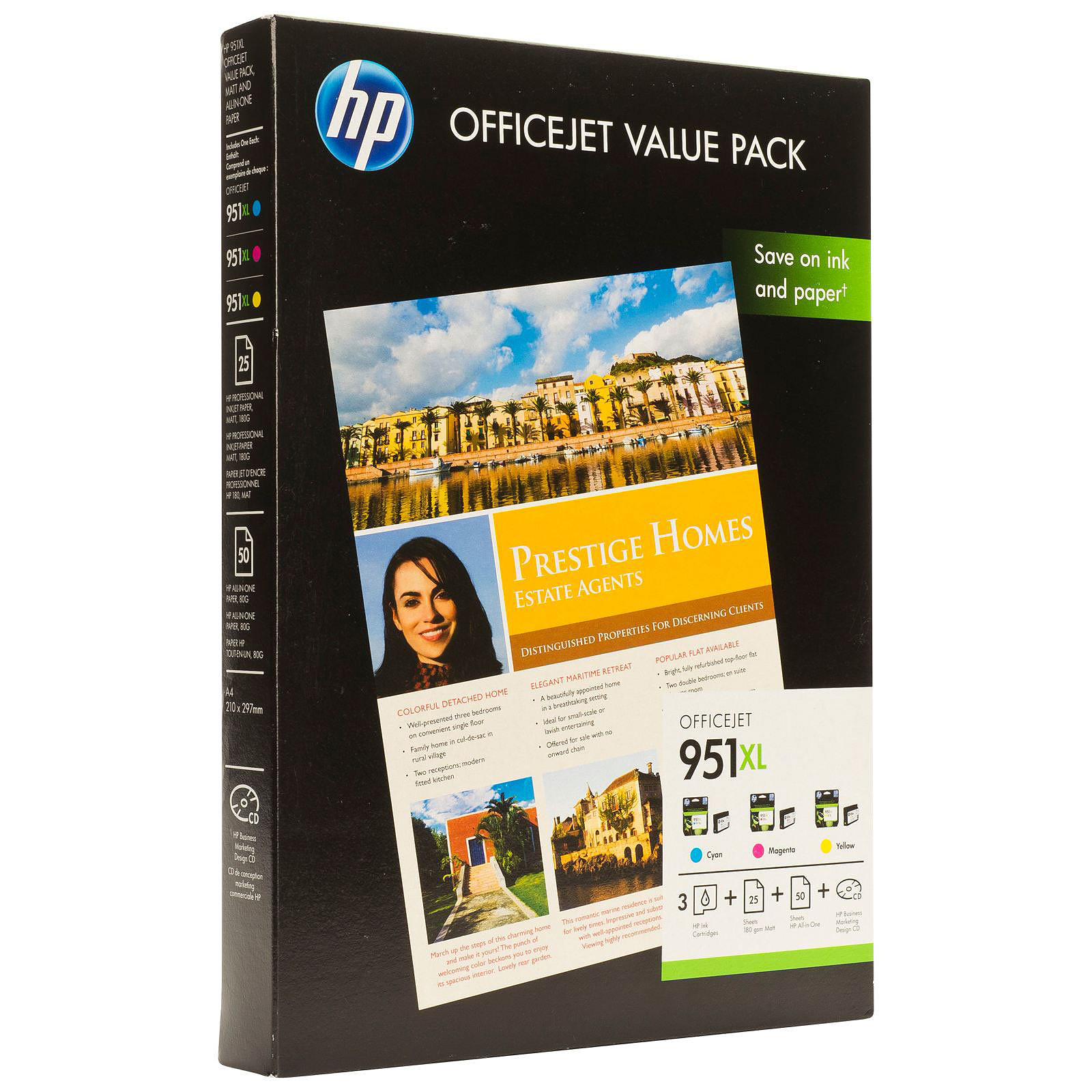 Paquete HP Value HP 951XL Officejet - CR712AE