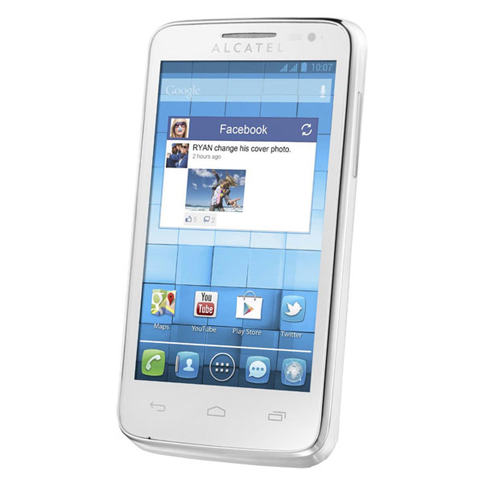 Alcatel 5020D One Touch M'Pop Blanc