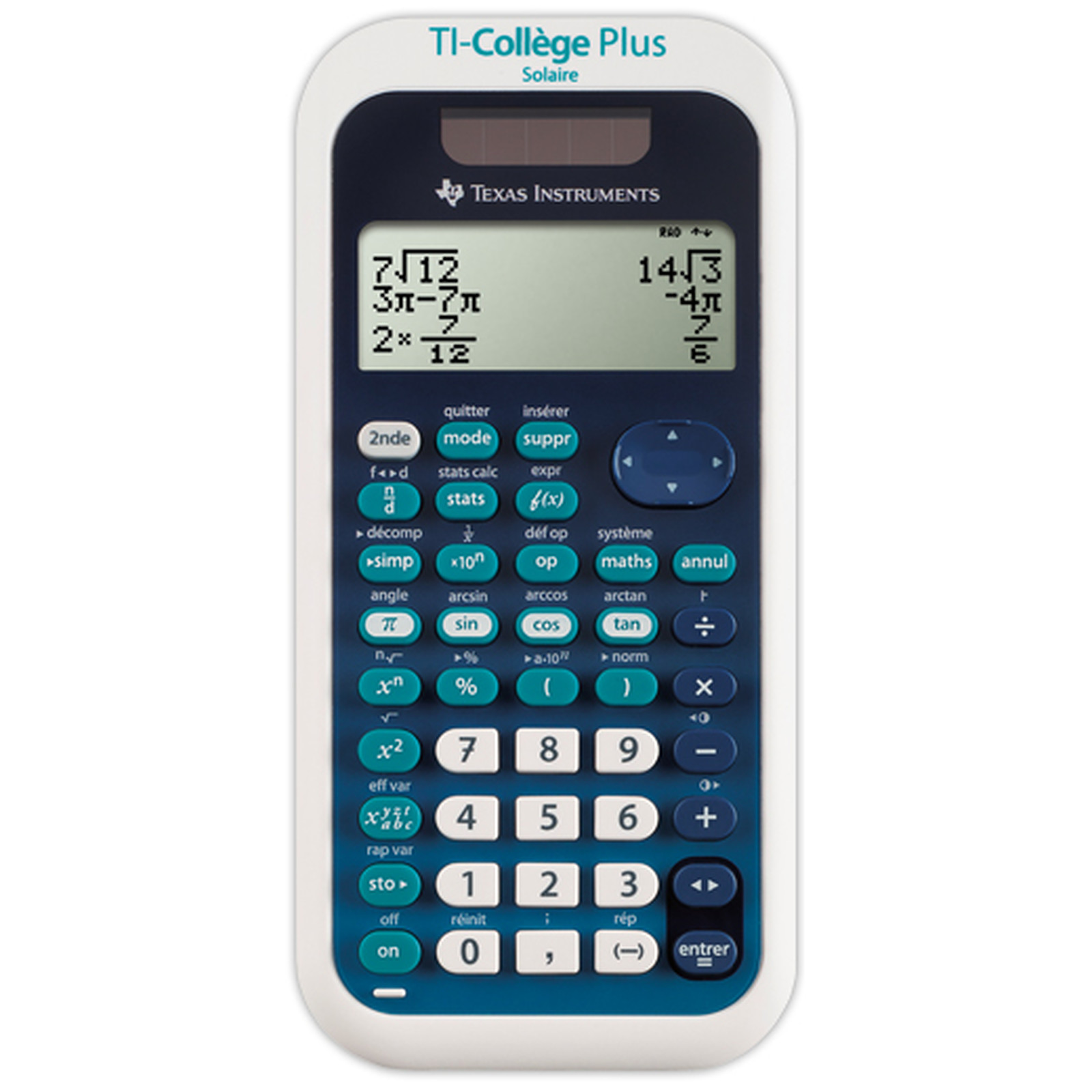 Texas Instruments TI Collège Plus Solaire