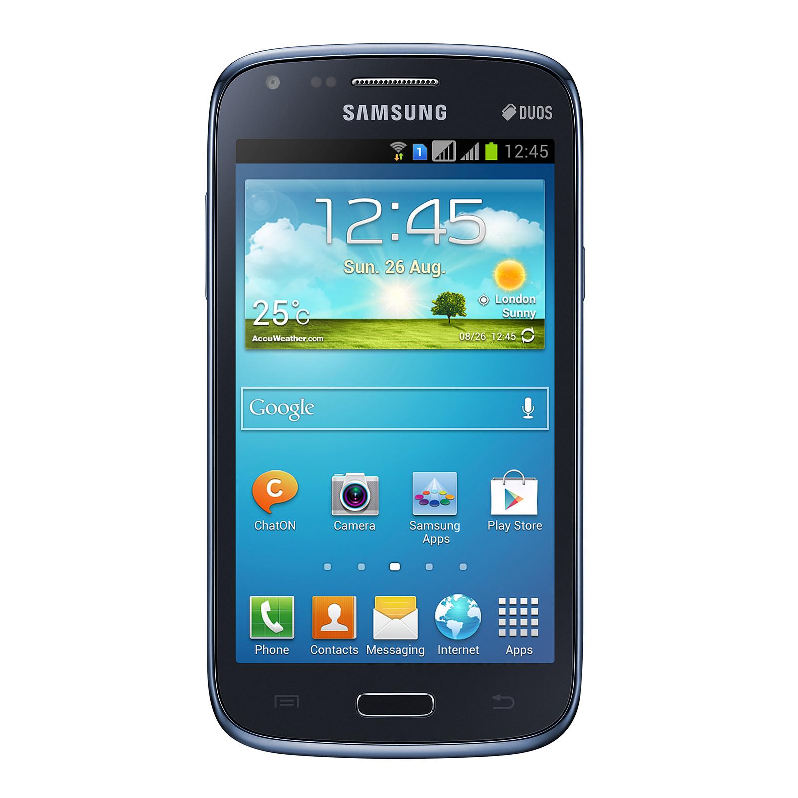Samsung Galaxy Core GT-i8262 Bleu - Mobile & smartphone Samsung ...