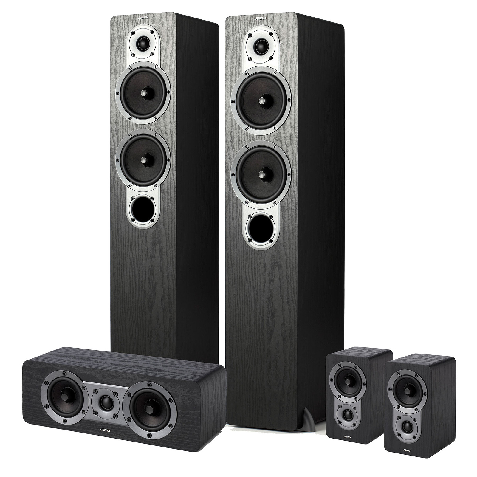 Jamo S 426 HCS 3 Black