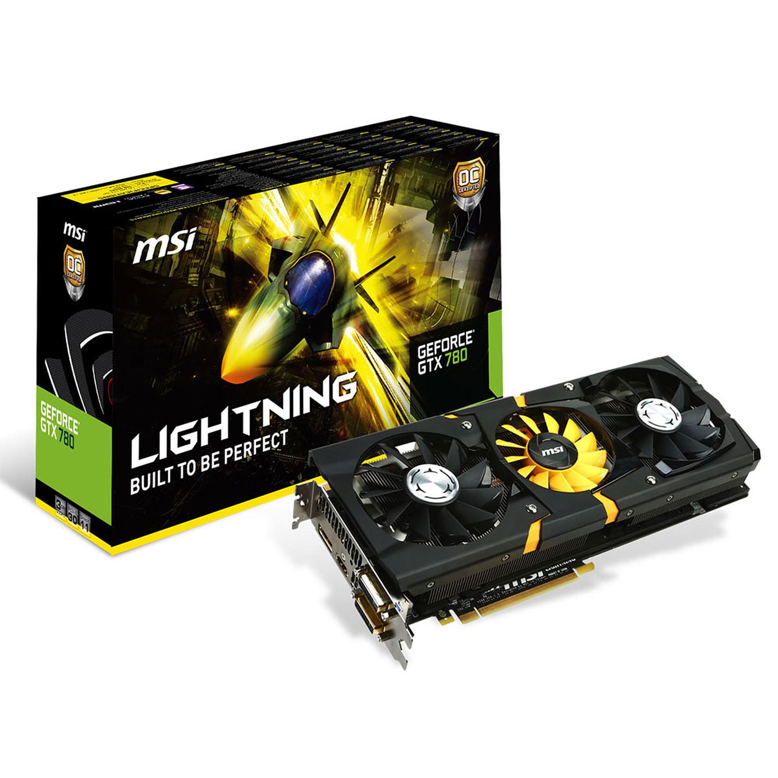 MSI GeForce GTX 780 N780 LIGHTNING 3 Go