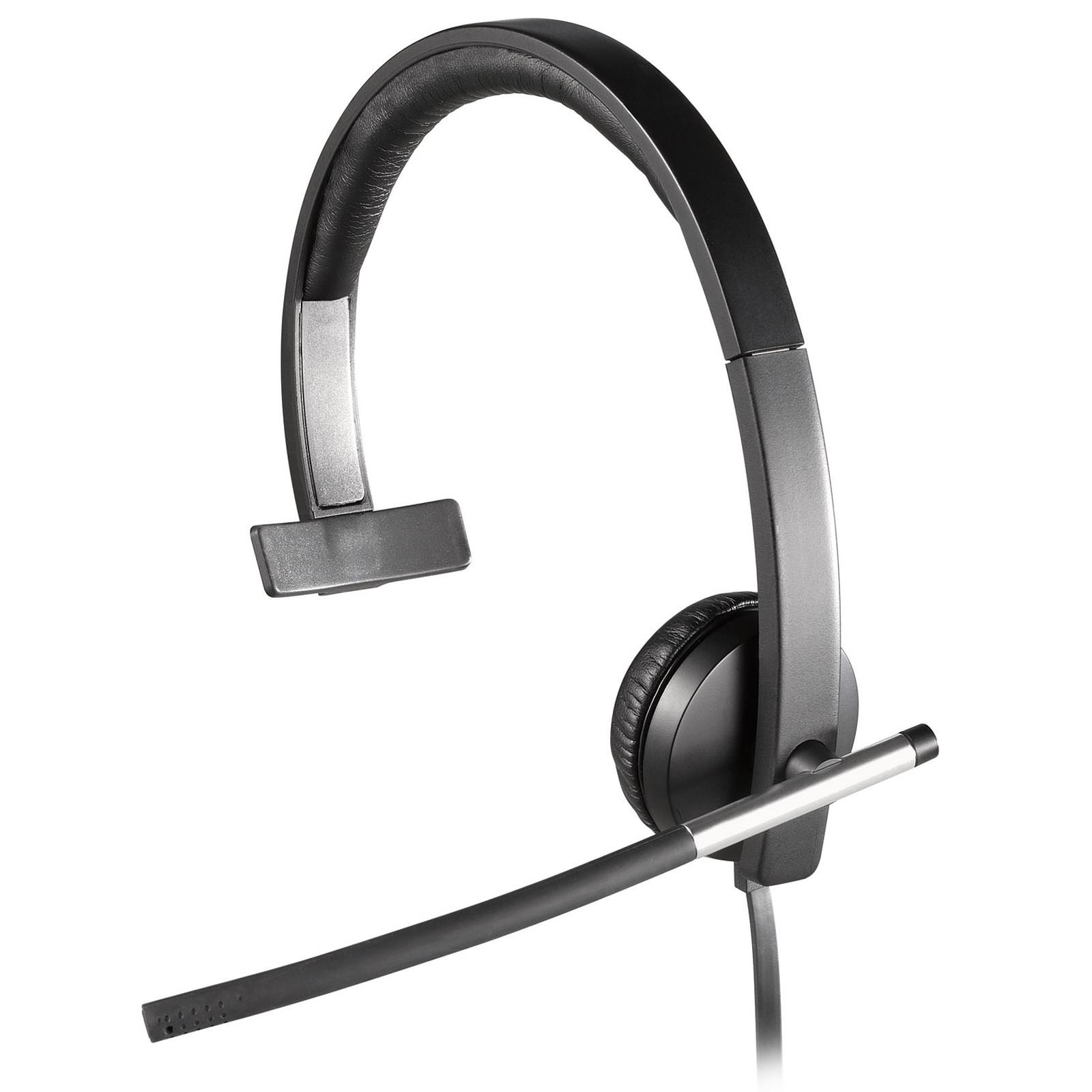 Logitech Usb Headset Mono H650e Micro Casque Logitech Sur Ldlccom