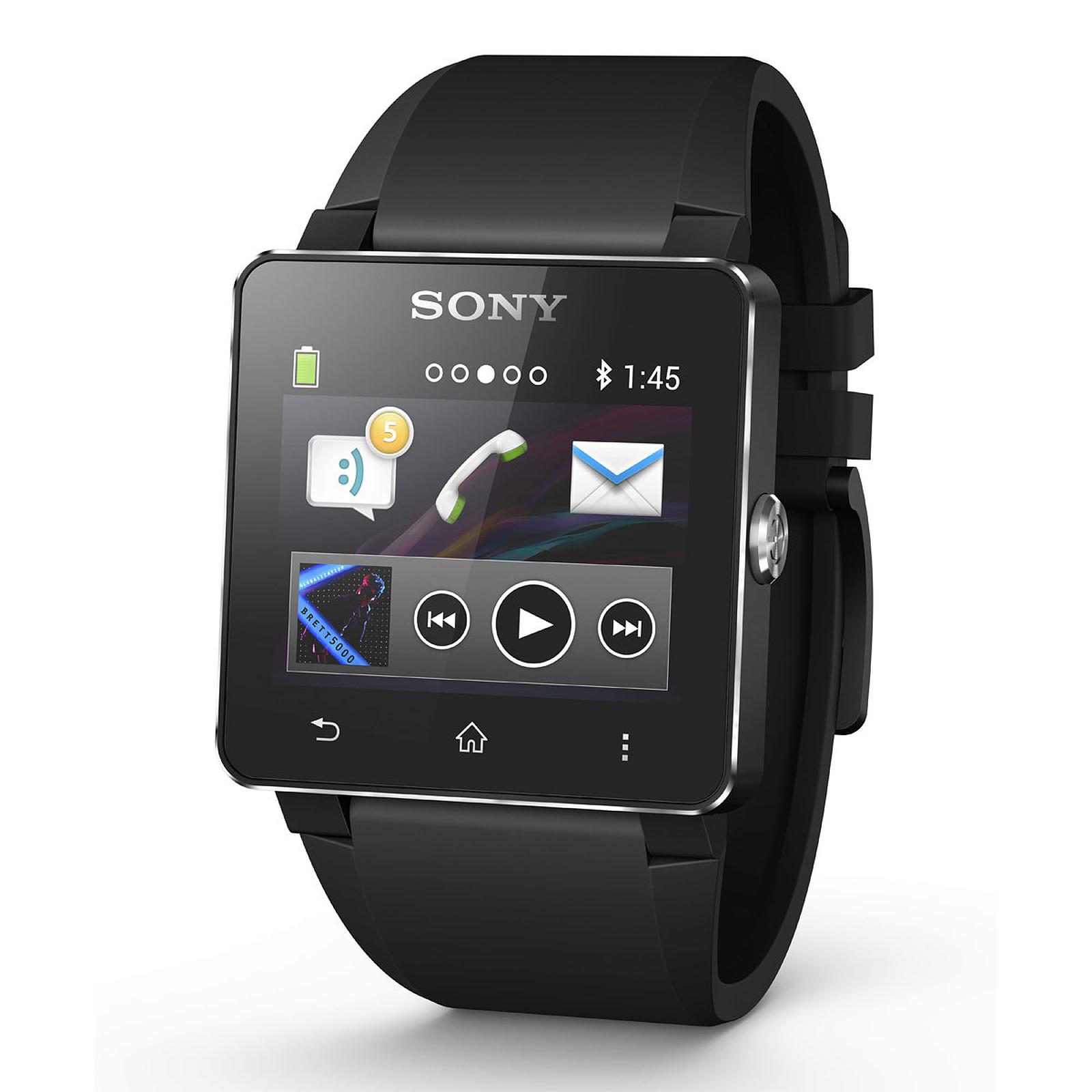 Sony SmartWatch 2 Silicone Noire
